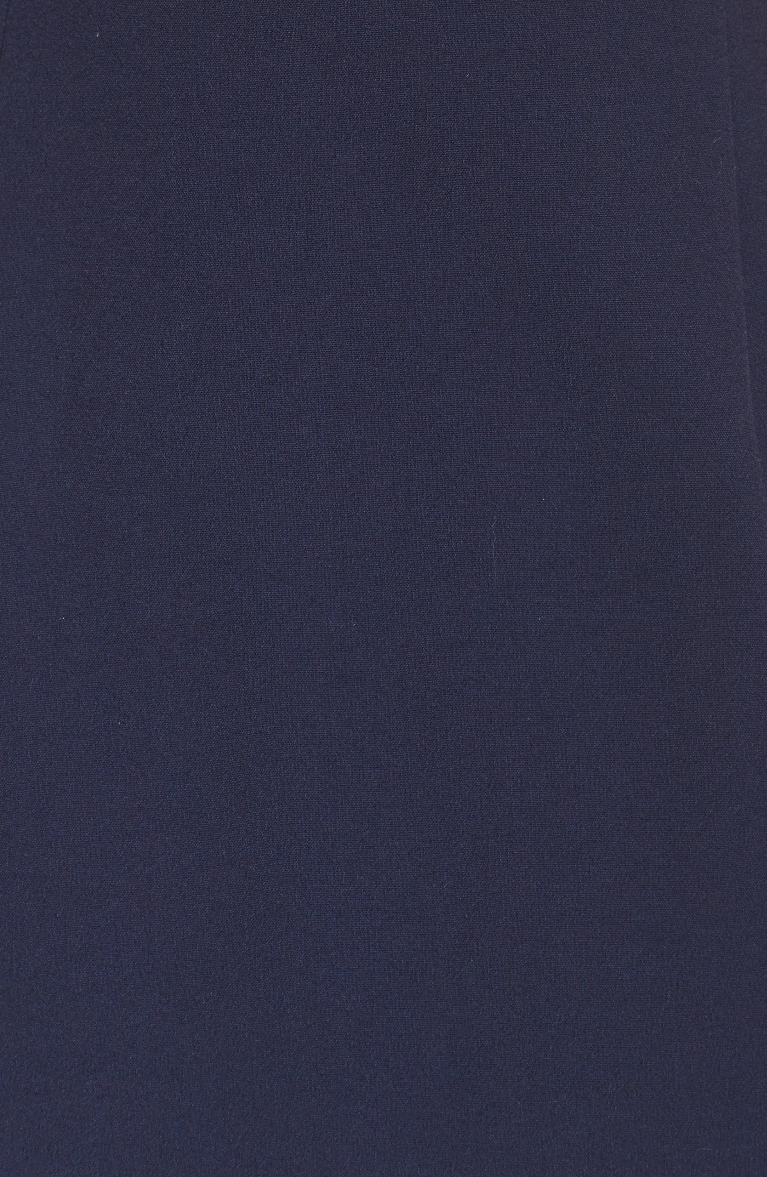Stretch Sheath Dress,                             Alternate thumbnail 5, color,                             407