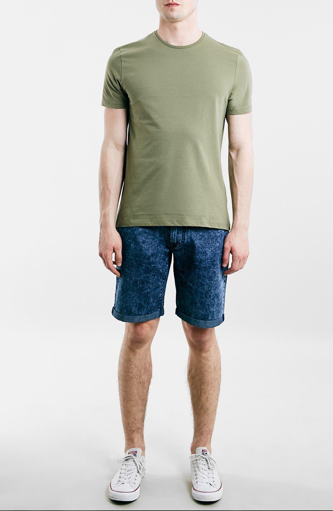 Slim Fit Crewneck T-Shirt,                             Alternate thumbnail 237, color,
