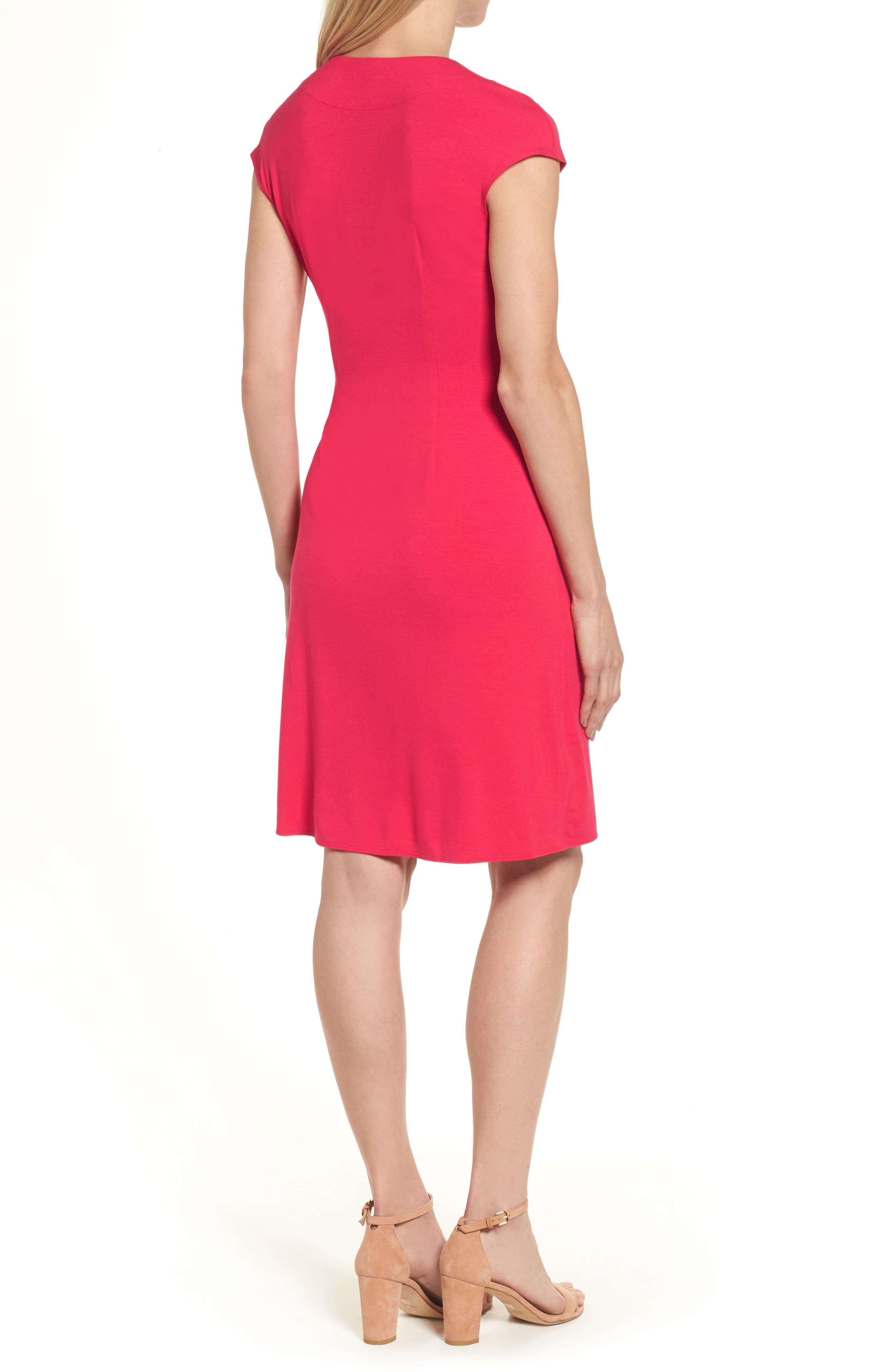 'Tambour' Side Gathered Dress,                             Alternate thumbnail 12, color,