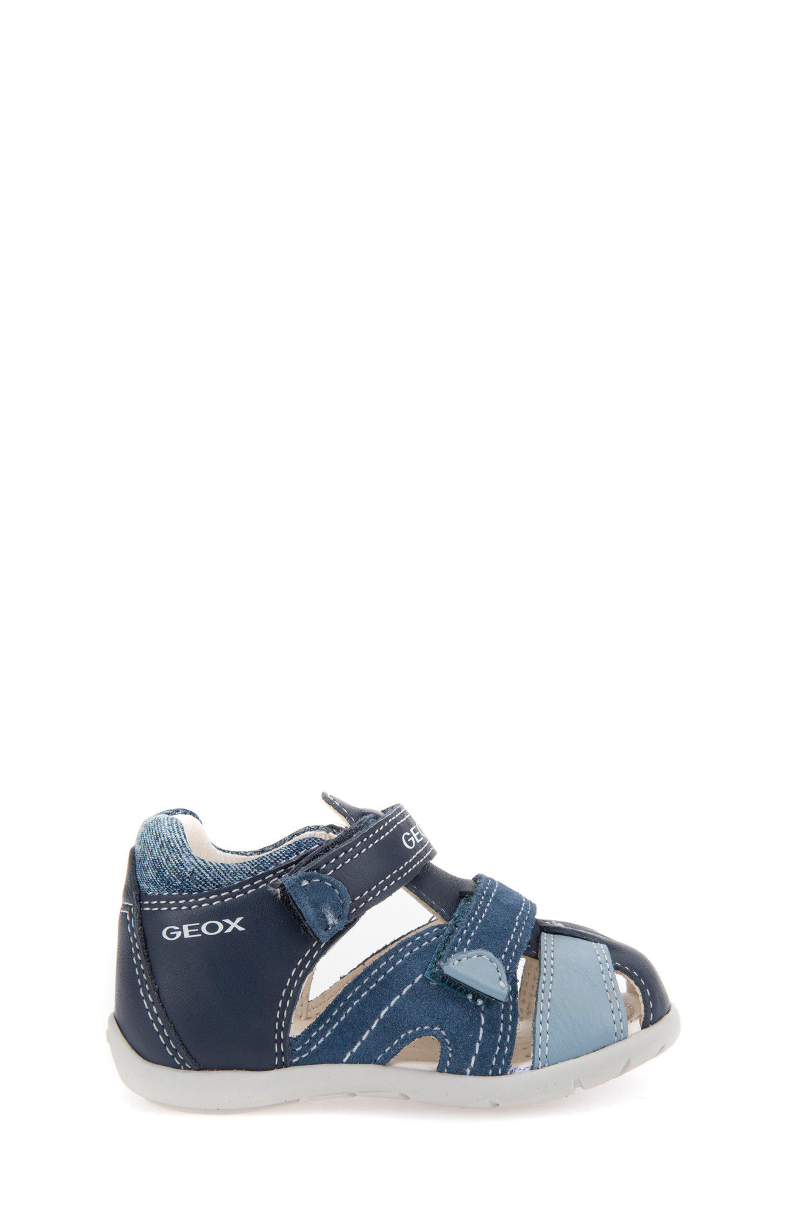 'Kaytan' Sandal,                             Alternate thumbnail 3, color,                             NAVY/ AVIO