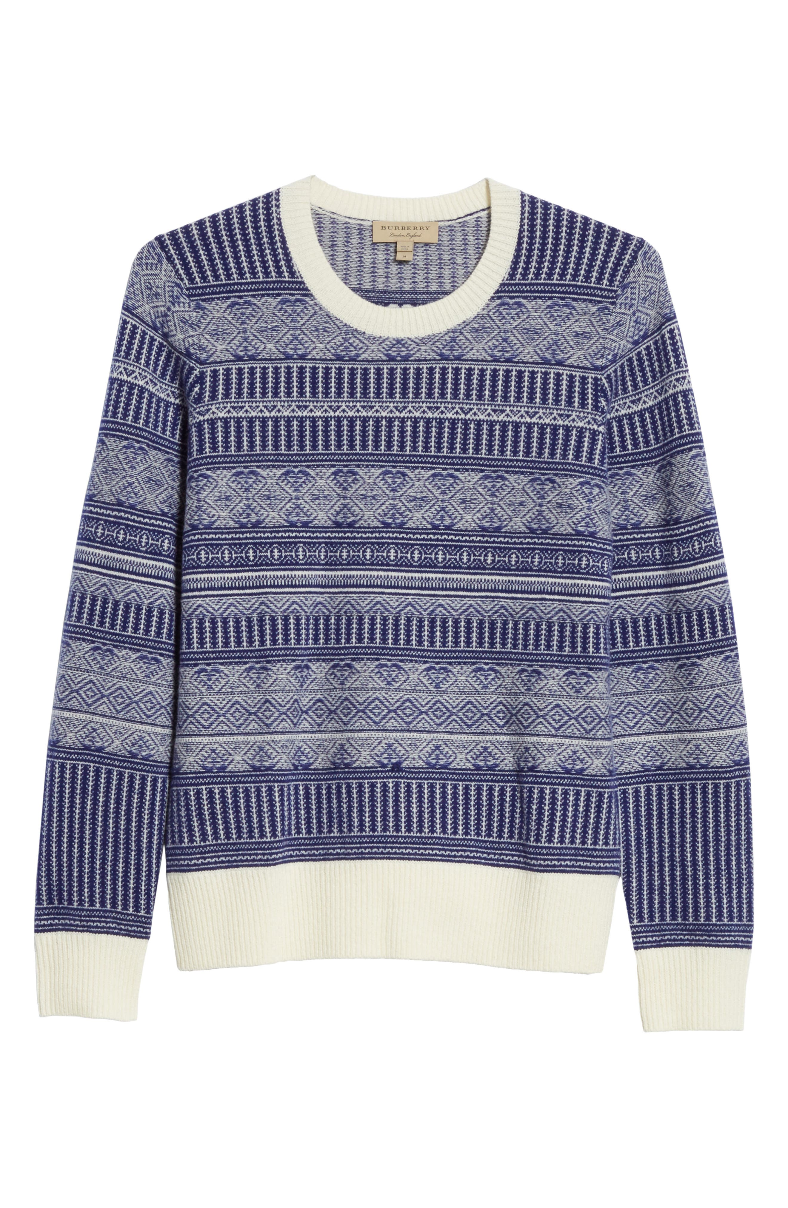 Tredway Wool & Cashmere Sweater,                             Alternate thumbnail 6, color,                             410