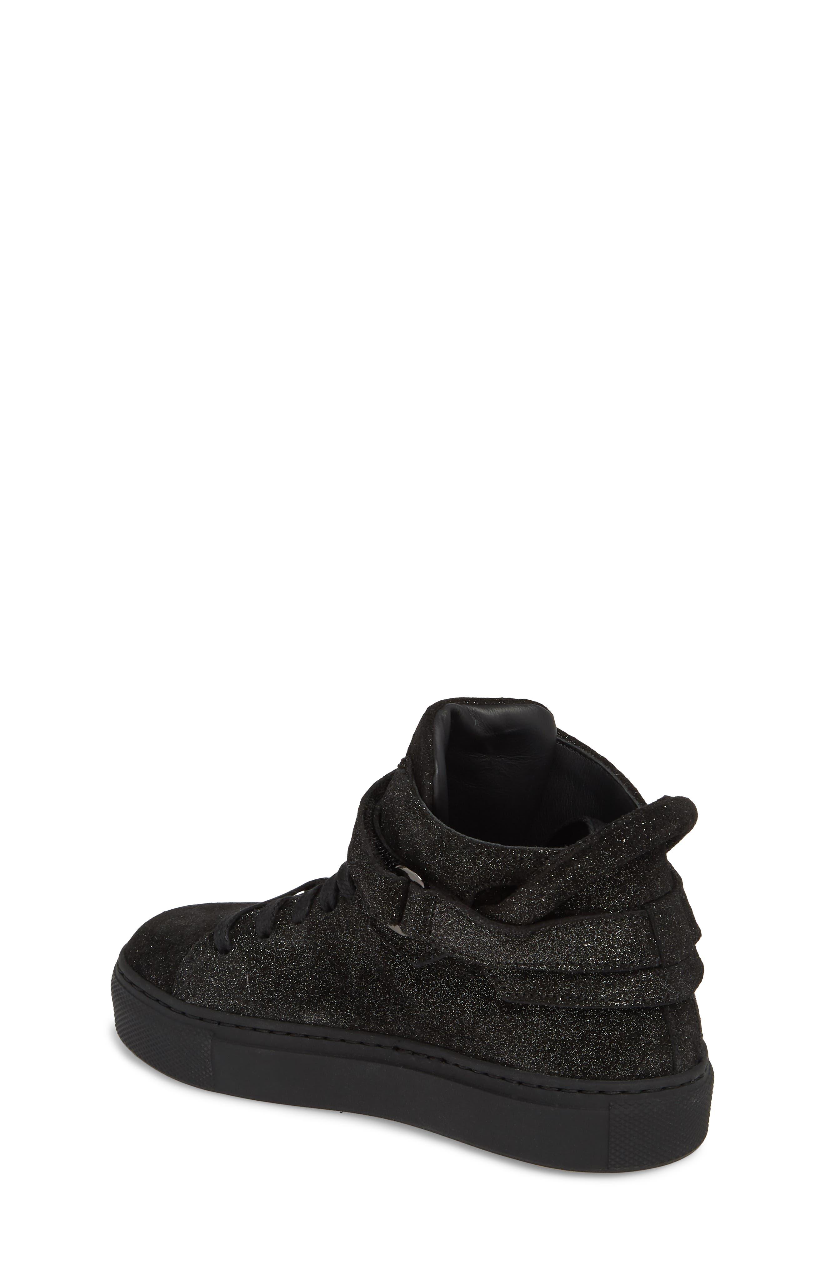 BUSCEMI,                             Gleam High Top Sneaker,                             Alternate thumbnail 2, color,                             001