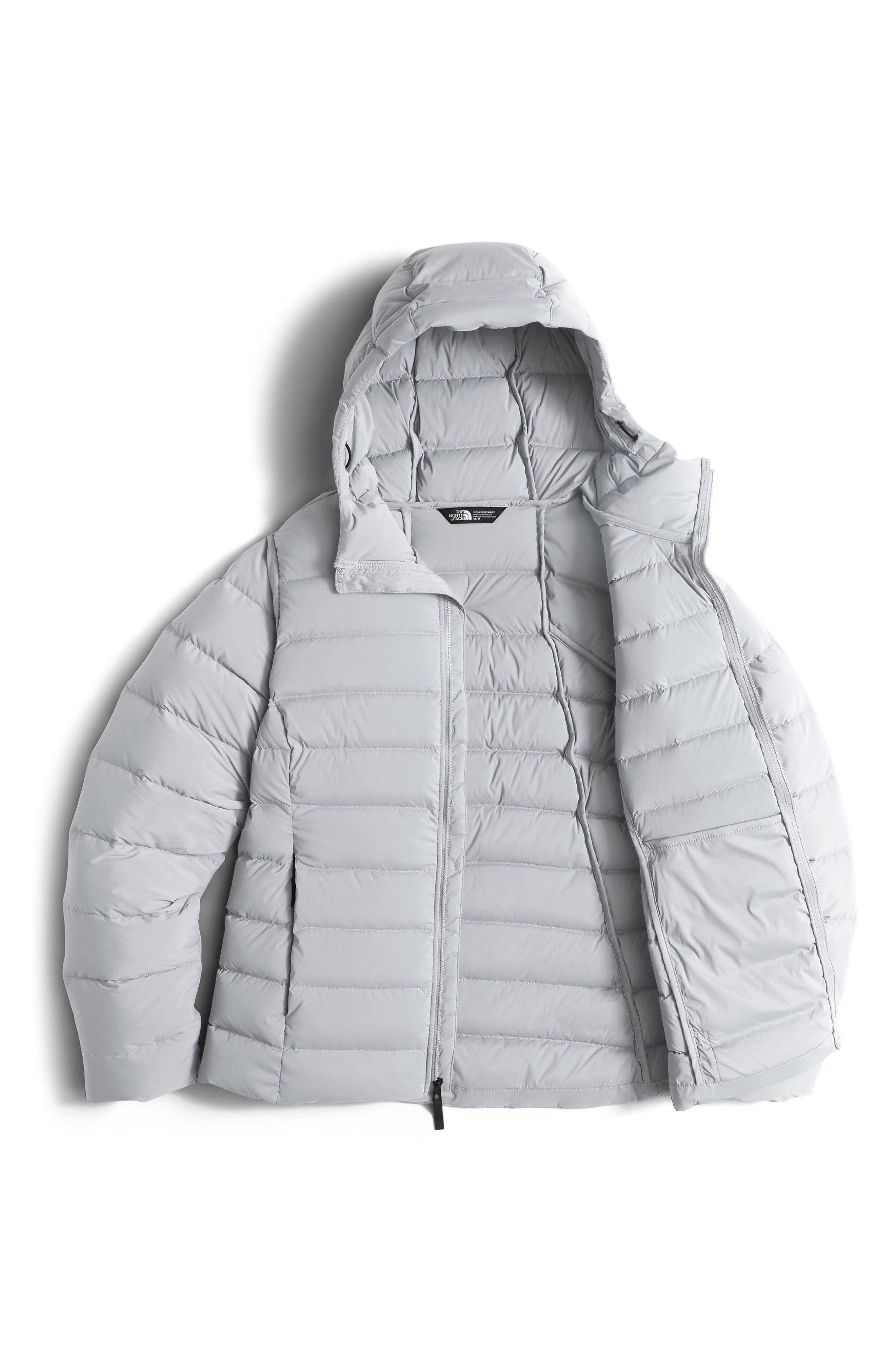W Hooded Stretch Down Jacket,                             Alternate thumbnail 2, color,                             030