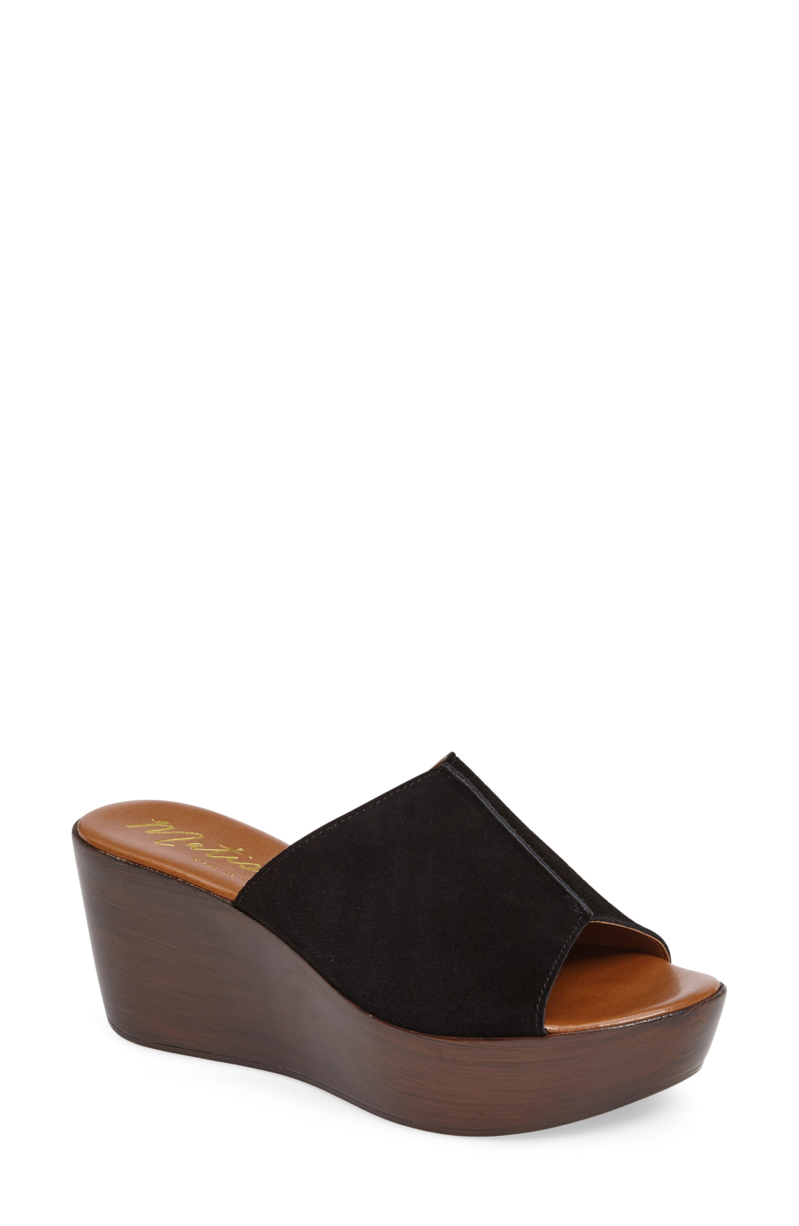 Platform Slide Sandal,                             Main thumbnail 1, color,                             017