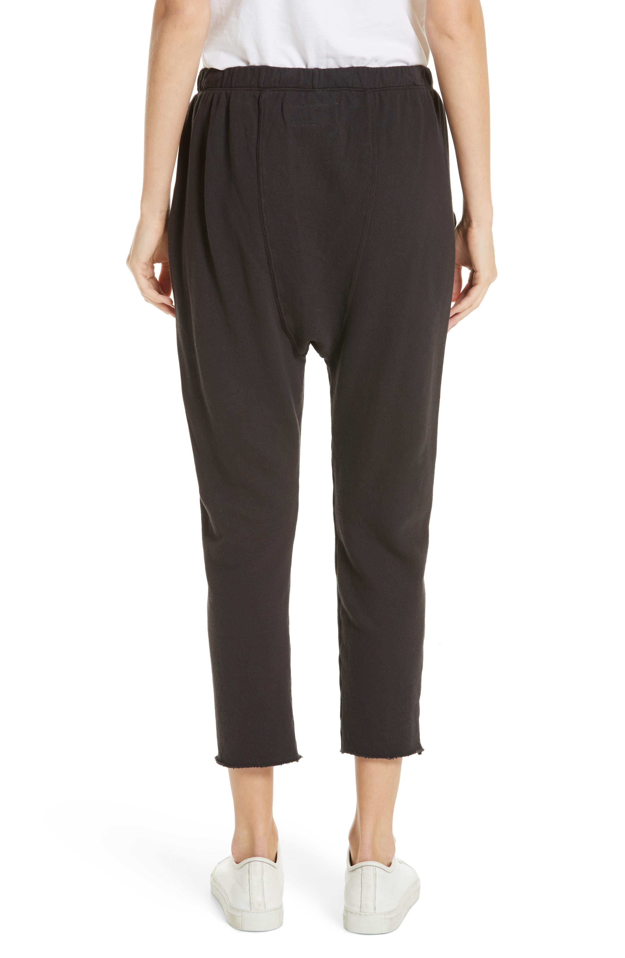 The Pajama Sweatpants,                             Alternate thumbnail 2, color,                             ALMOST BLACK