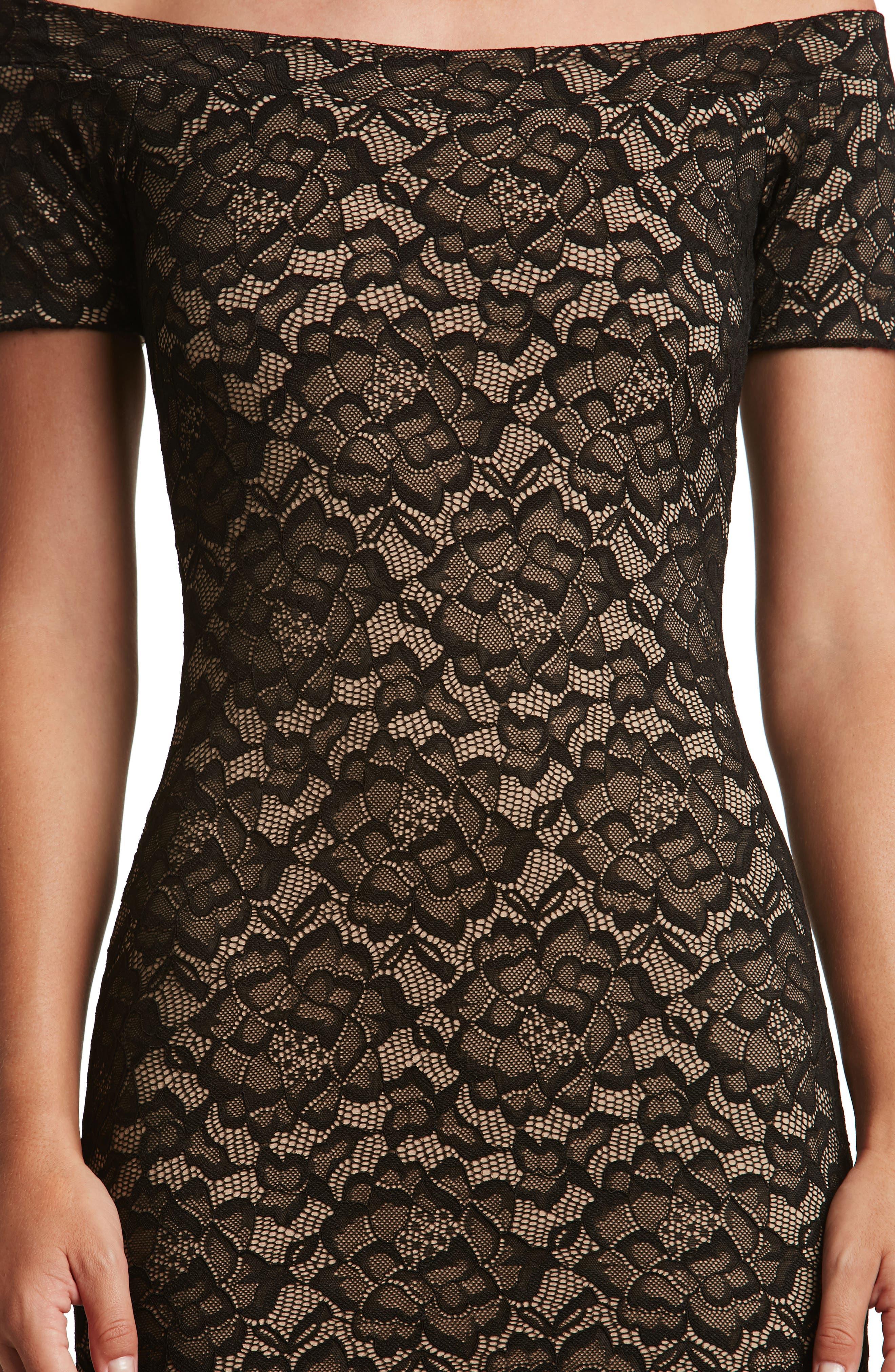 Jemma Midi Dress,                             Alternate thumbnail 4, color,                             001