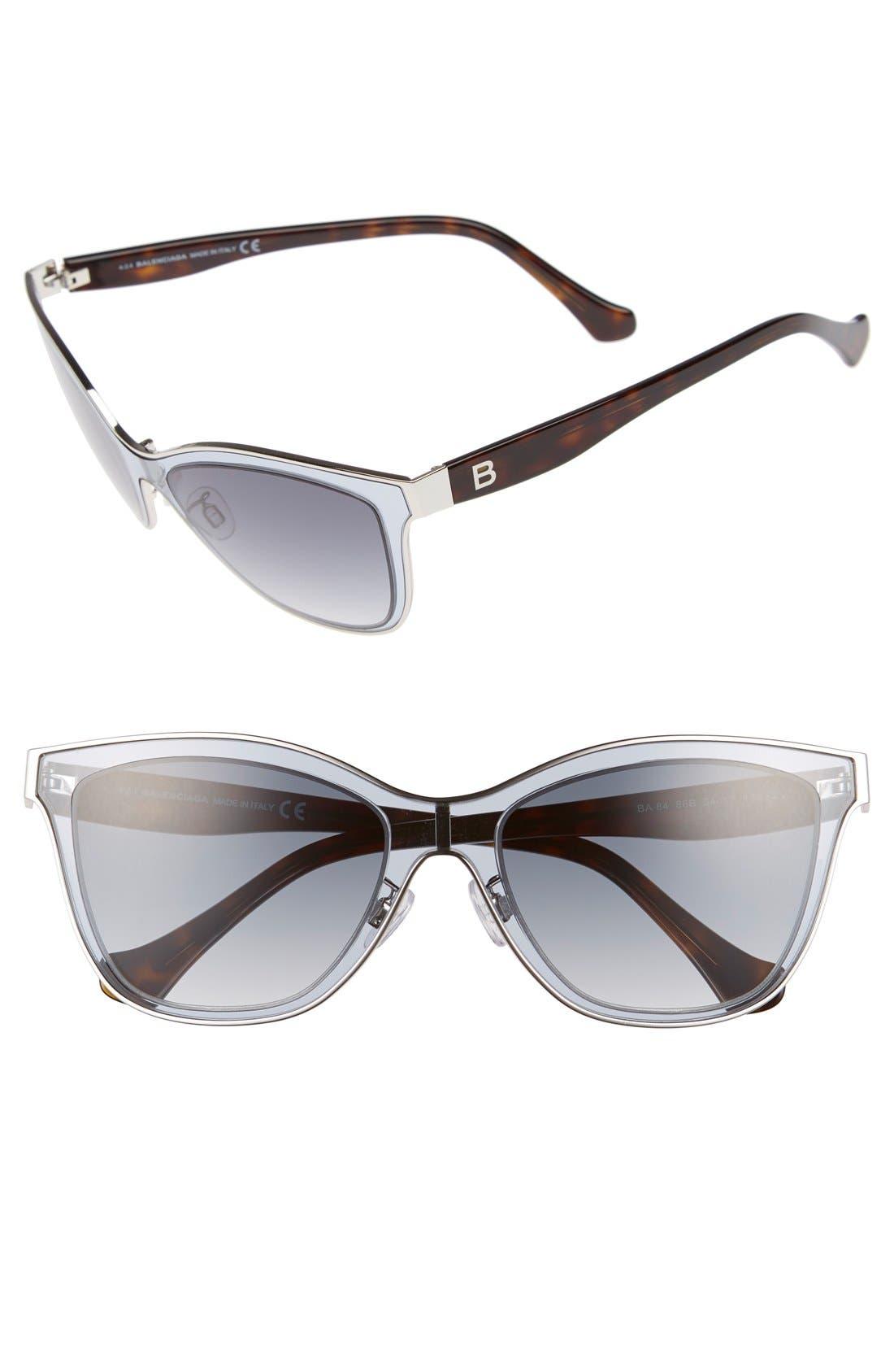 Paris 54mm Sunglasses,                             Main thumbnail 1, color,                             040