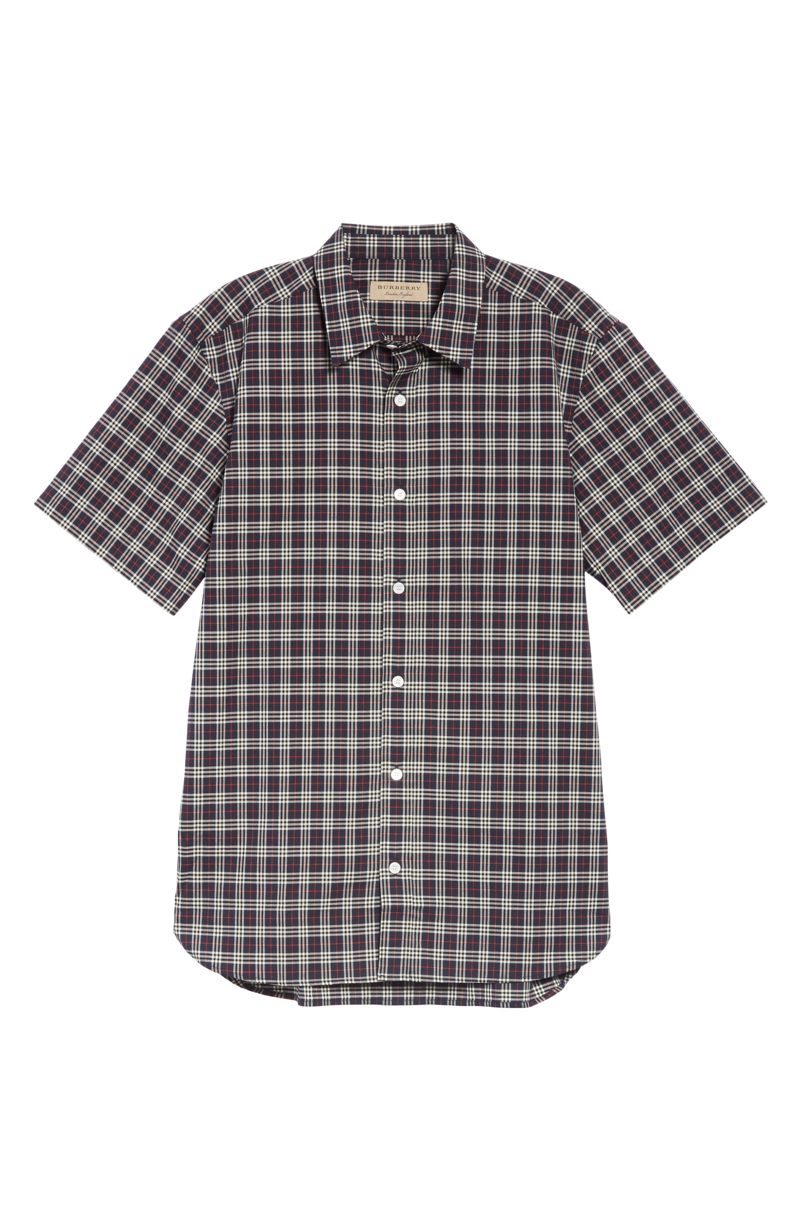 Edward Short Sleeve Shirt,                             Alternate thumbnail 5, color,                             400