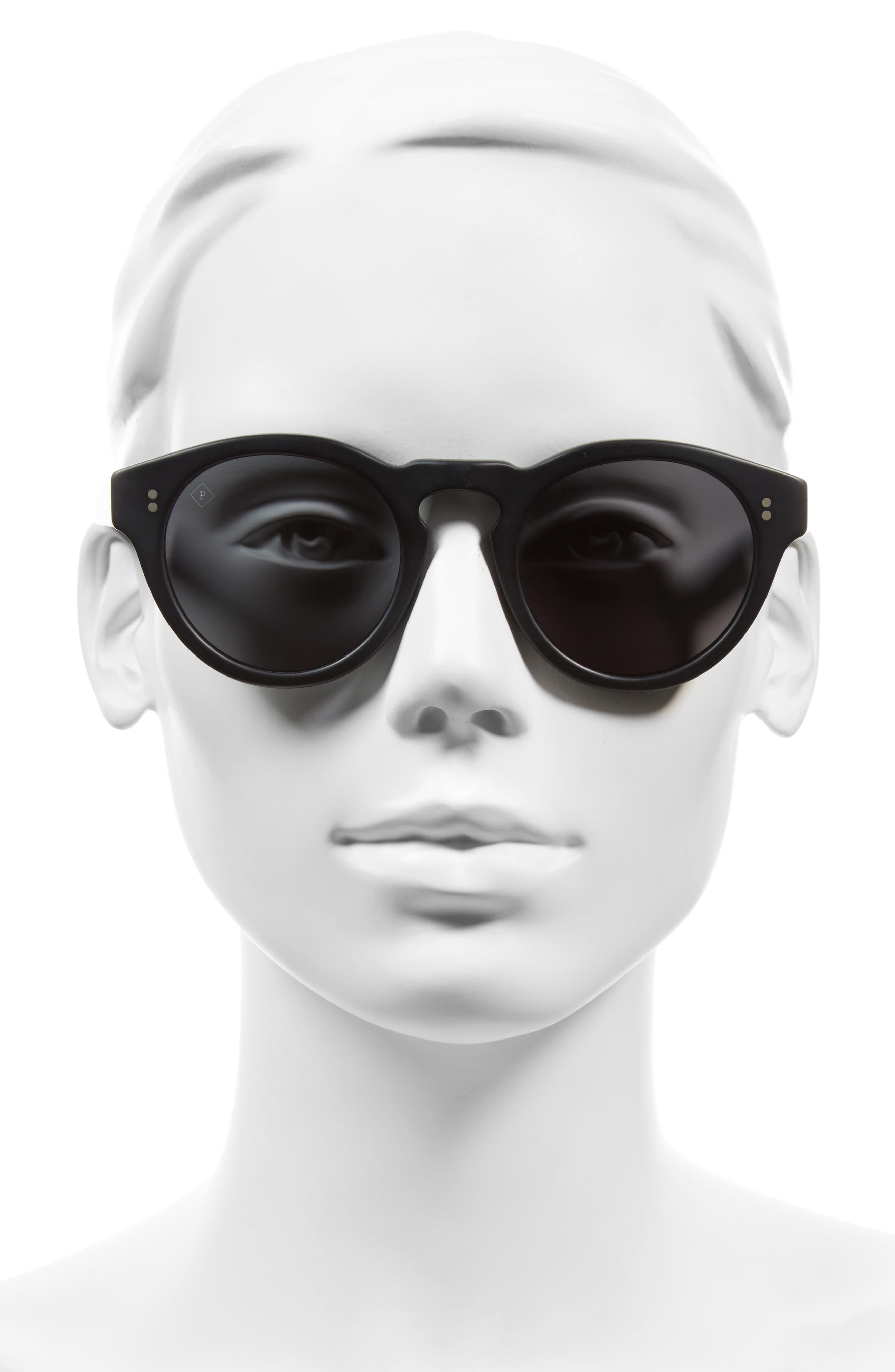 Parkhurst 49mm Sunglasses,                             Alternate thumbnail 3, color,                             001