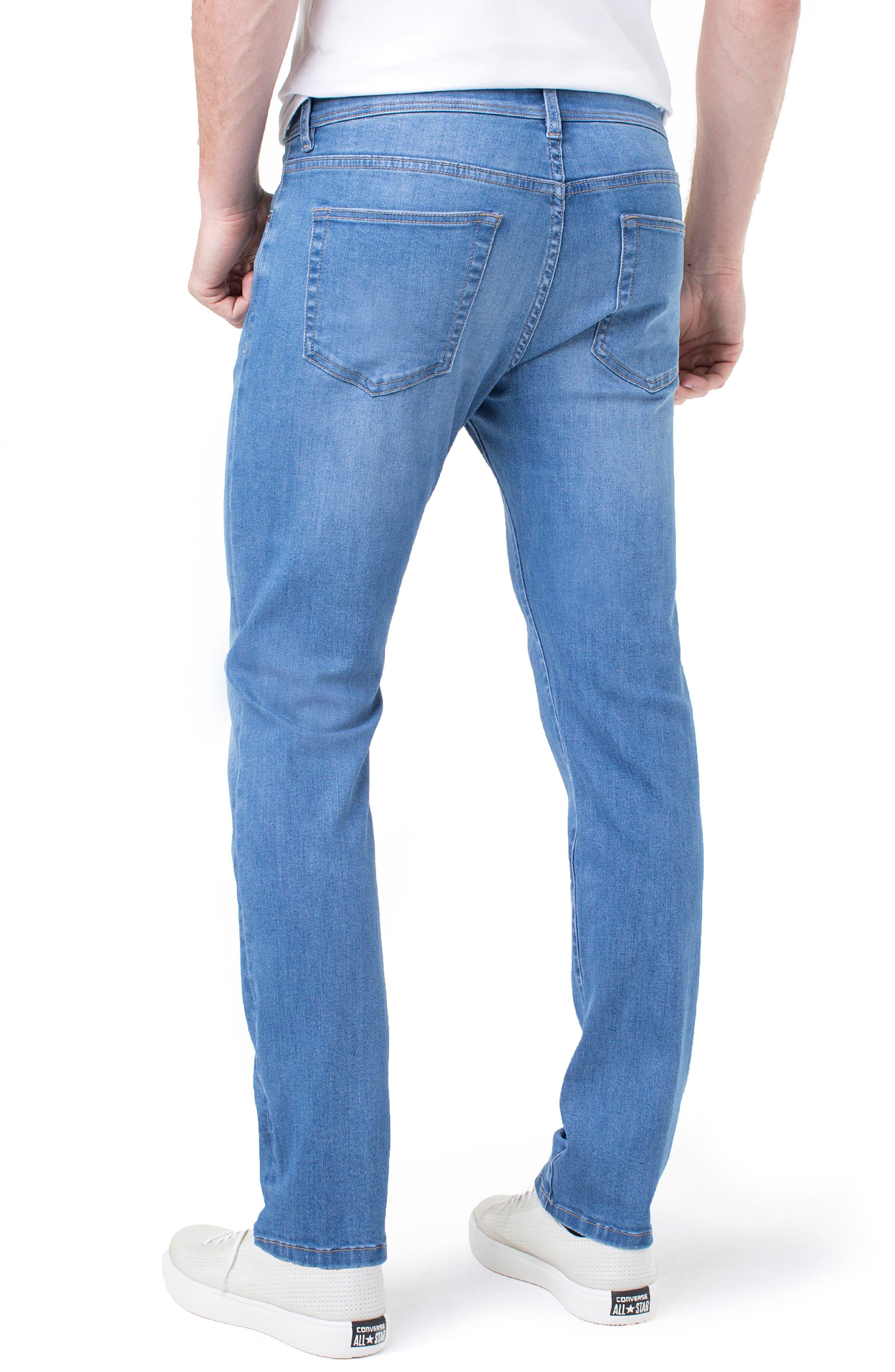 Kingston Slim Straight Leg Jeans,                             Alternate thumbnail 2, color,                             LORAIN