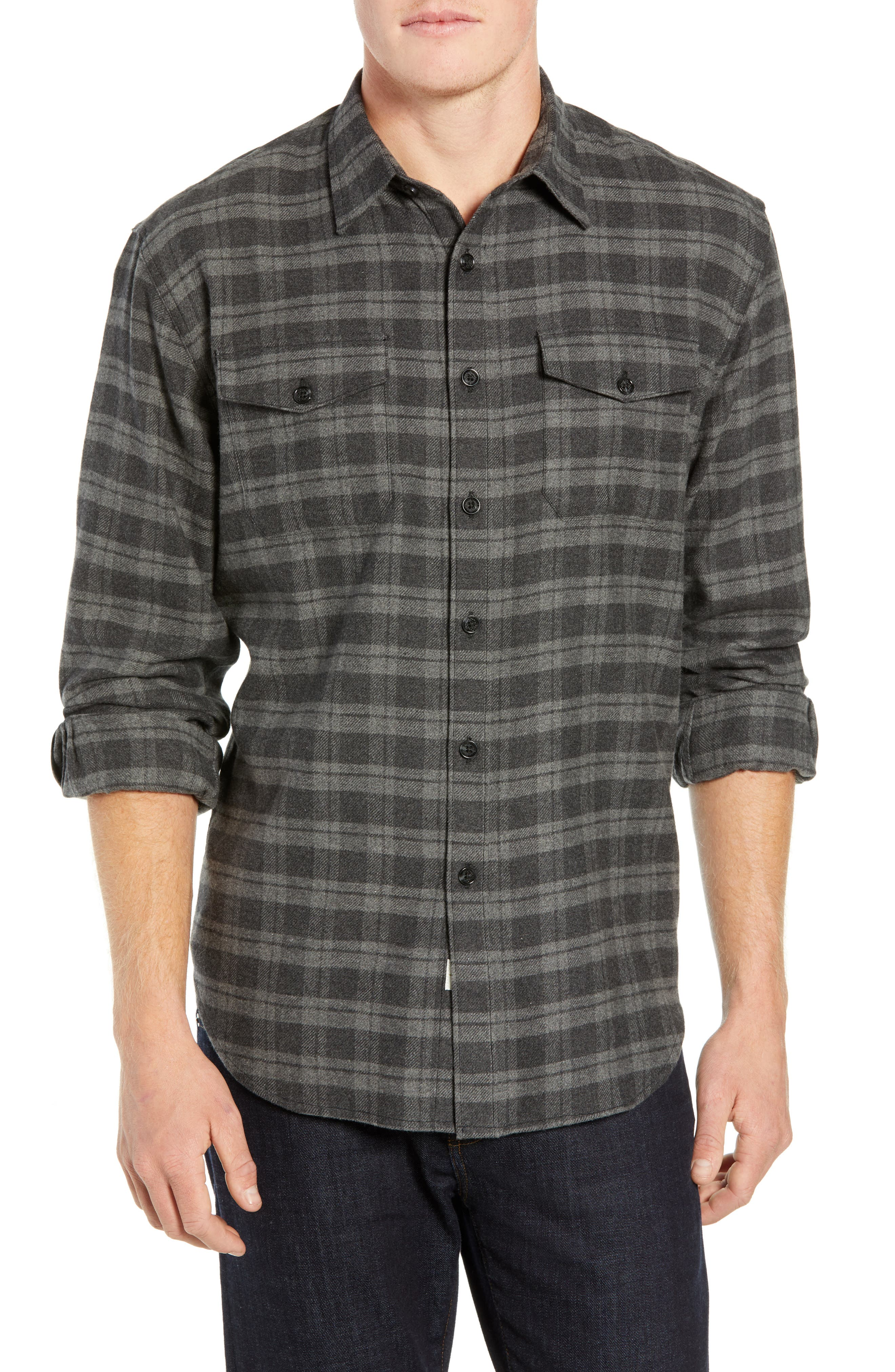 Coastaoro Encanto Regular Fit Plaid Flannel Shirt