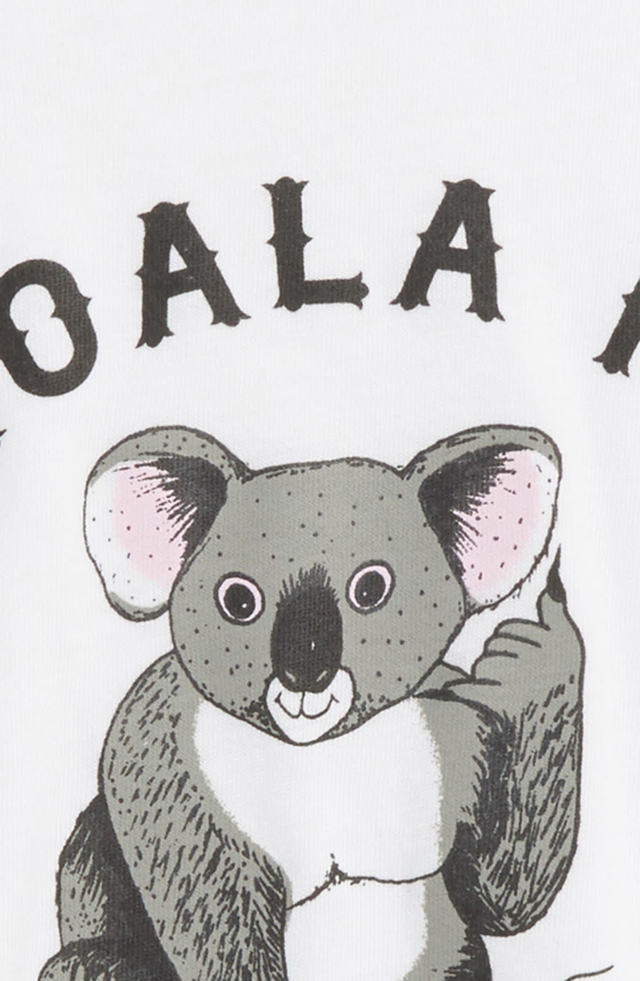 Koala Me Back Tee,                             Alternate thumbnail 2, color,                             100