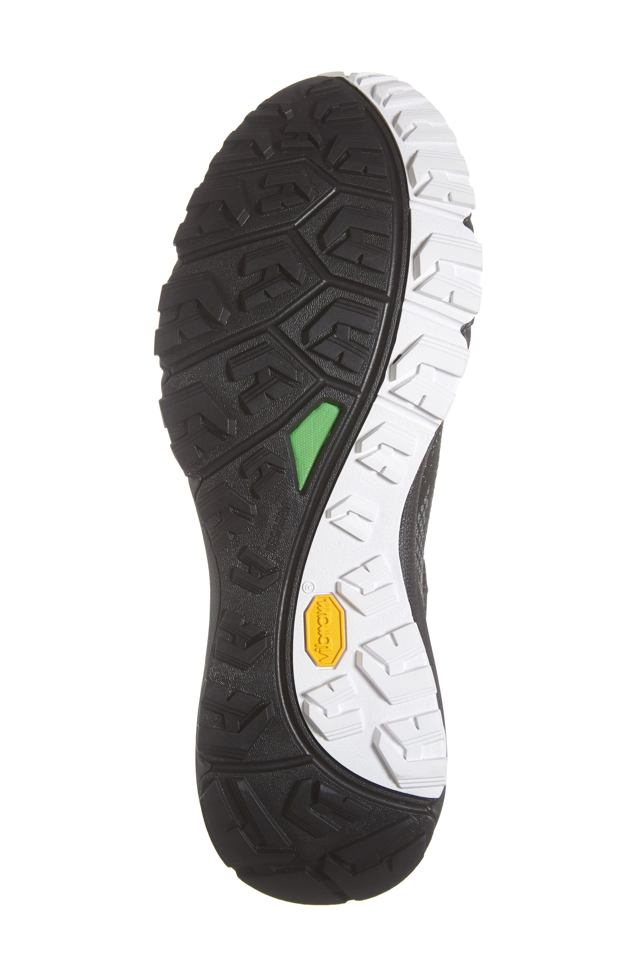 Ultra Fastpack III Mid Gore-Tex<sup>®</sup> Hiking Boot,                             Alternate thumbnail 6, color,                             BLACK/ WHITE