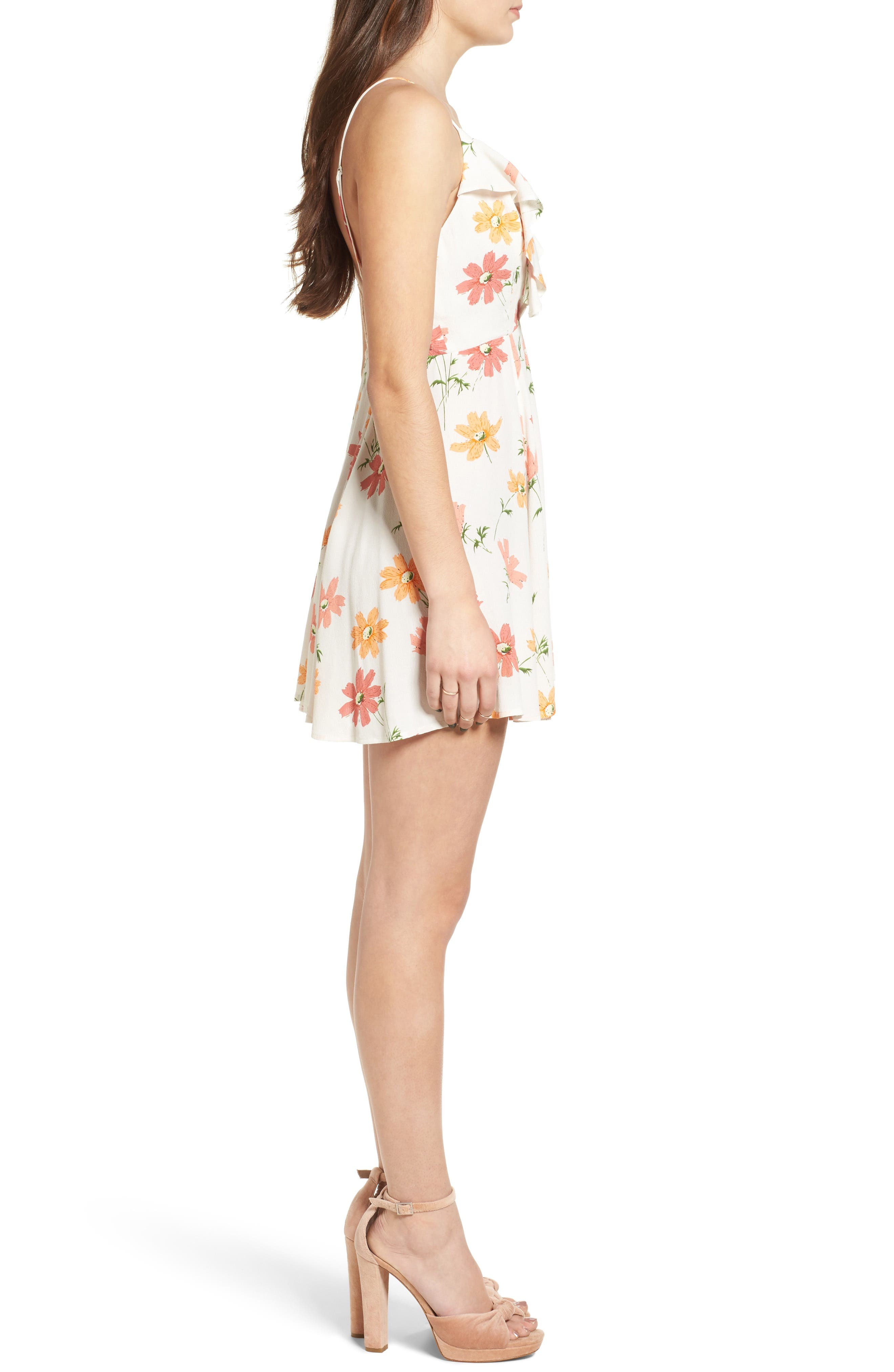PRIVACY PLEASE,                             Sigbee Floral Dress,                             Alternate thumbnail 3, color,                             900