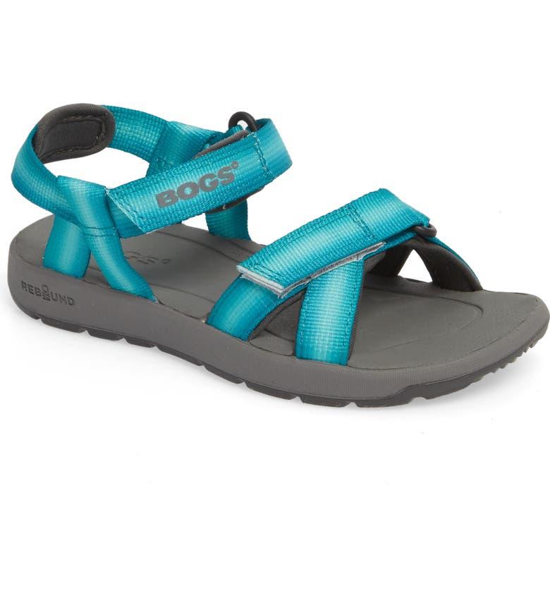 53077c9286703 Bogs Rio Sunrise Stripe Sandal (Toddler