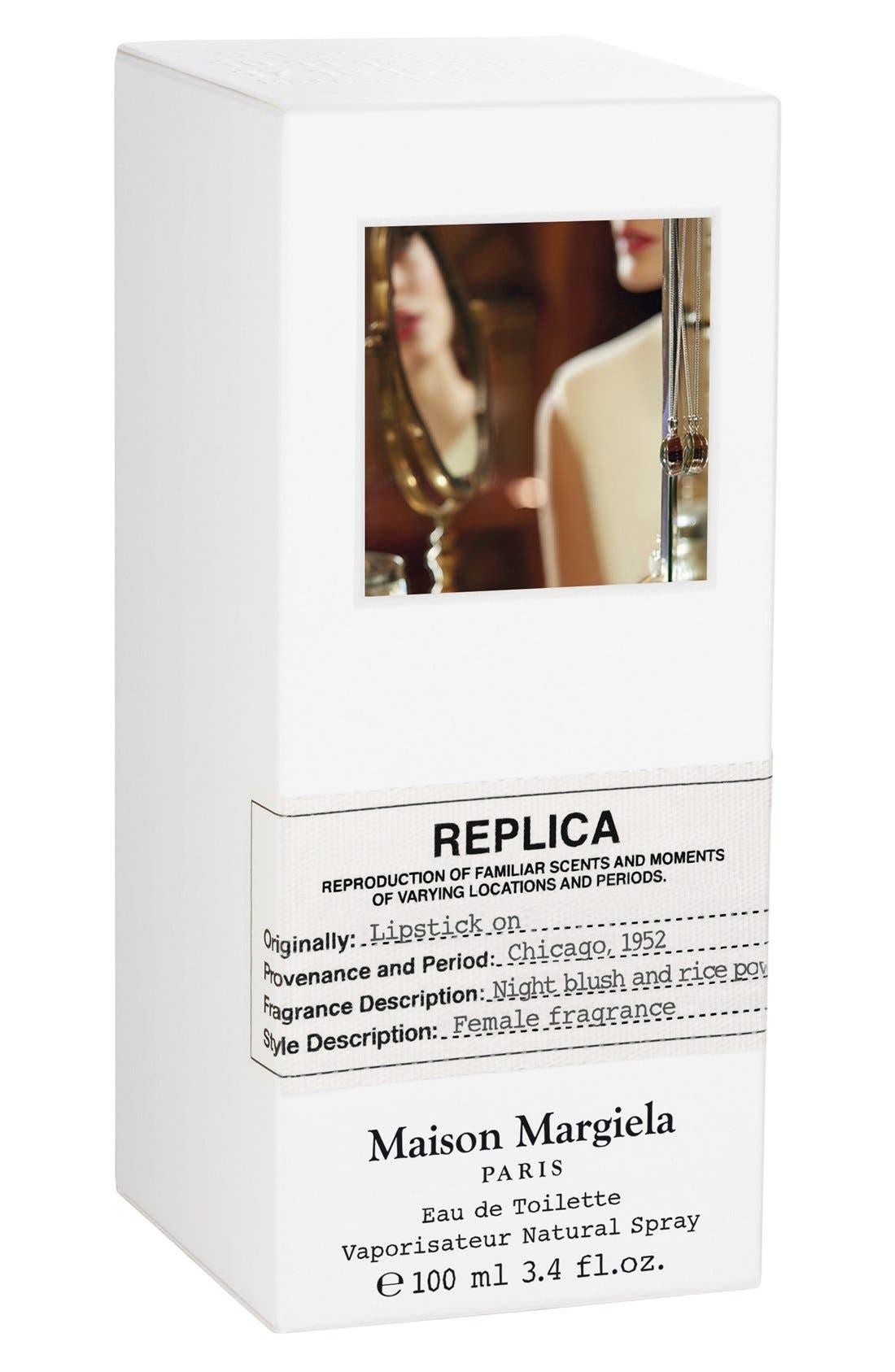 Replica Lipstick On Fragrance,                             Alternate thumbnail 3, color,                             NO COLOR