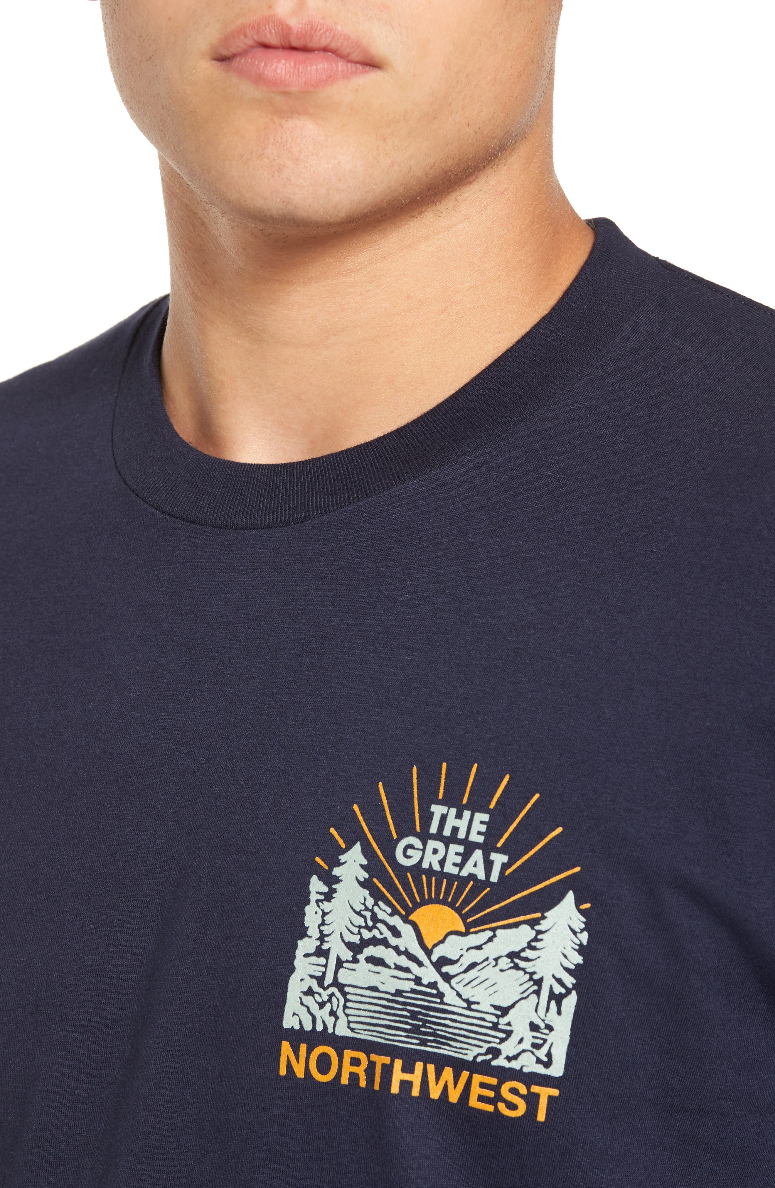 Squatch Valley 2 Graphic T-Shirt,                             Alternate thumbnail 8, color,
