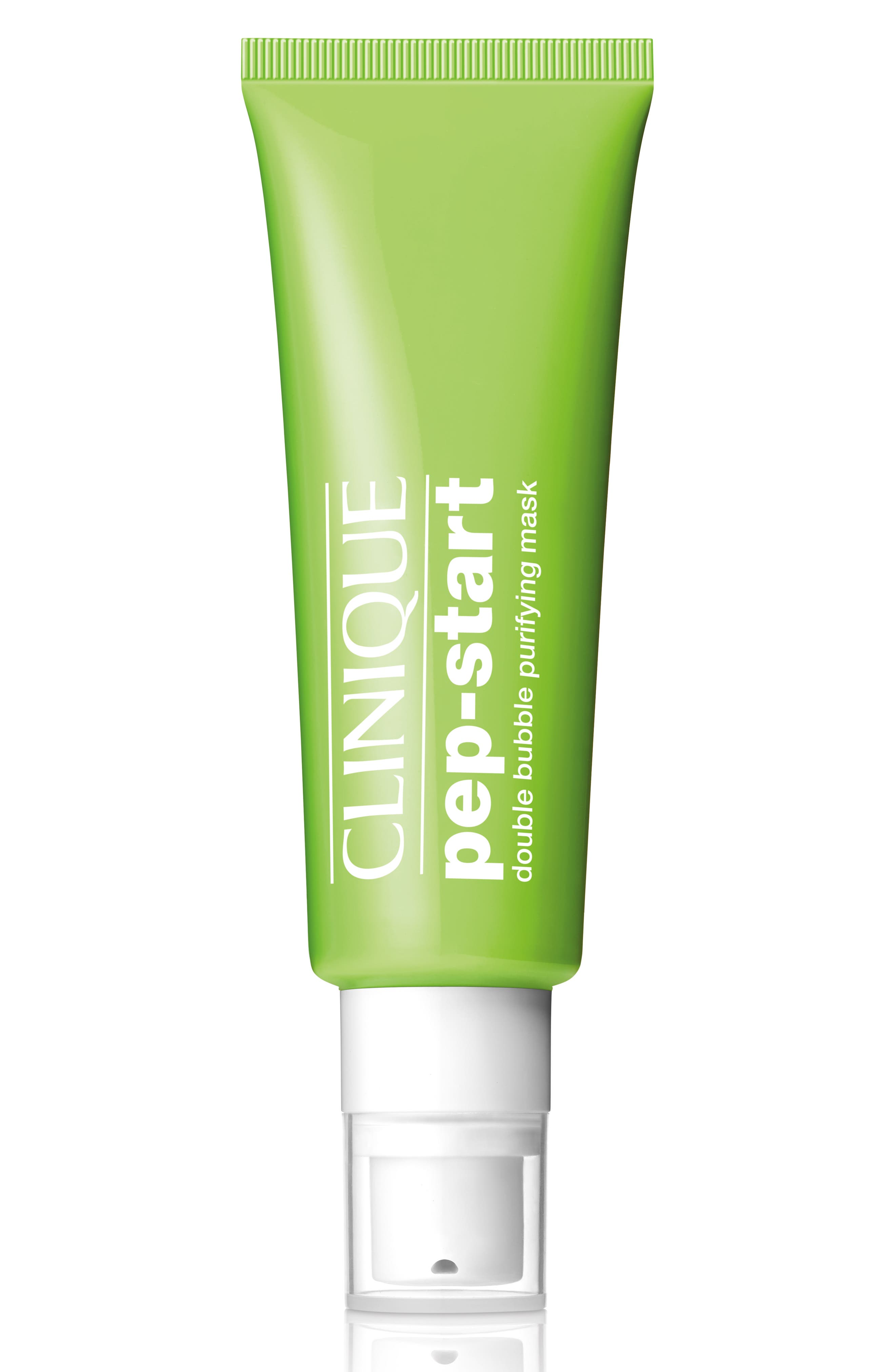 CLINIQUE Pep-Start Double Bubble Purifying Mask, Main, color, NONE