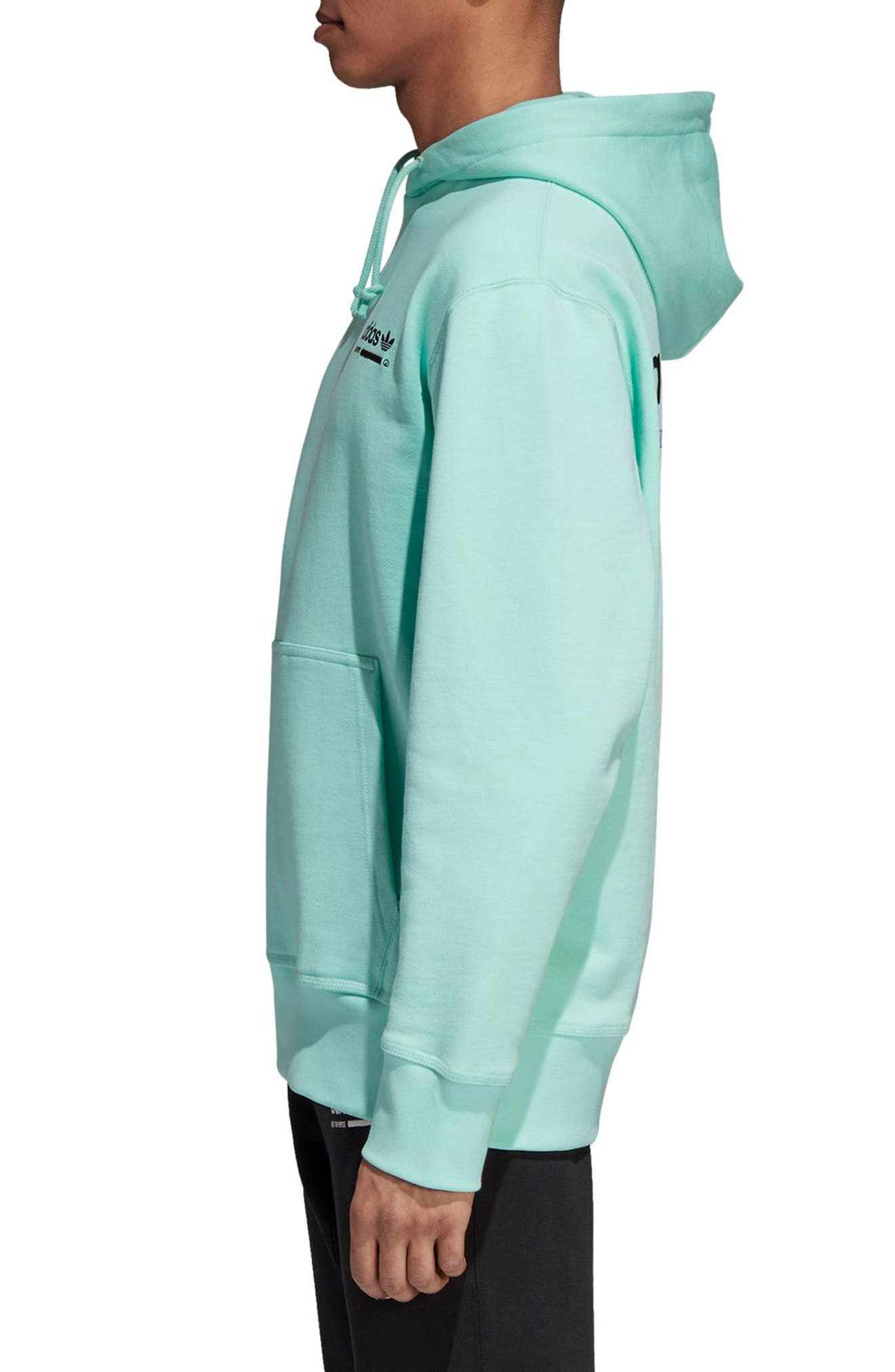 Kaval Hoodie,                             Alternate thumbnail 3, color,                             CLEAR MINT