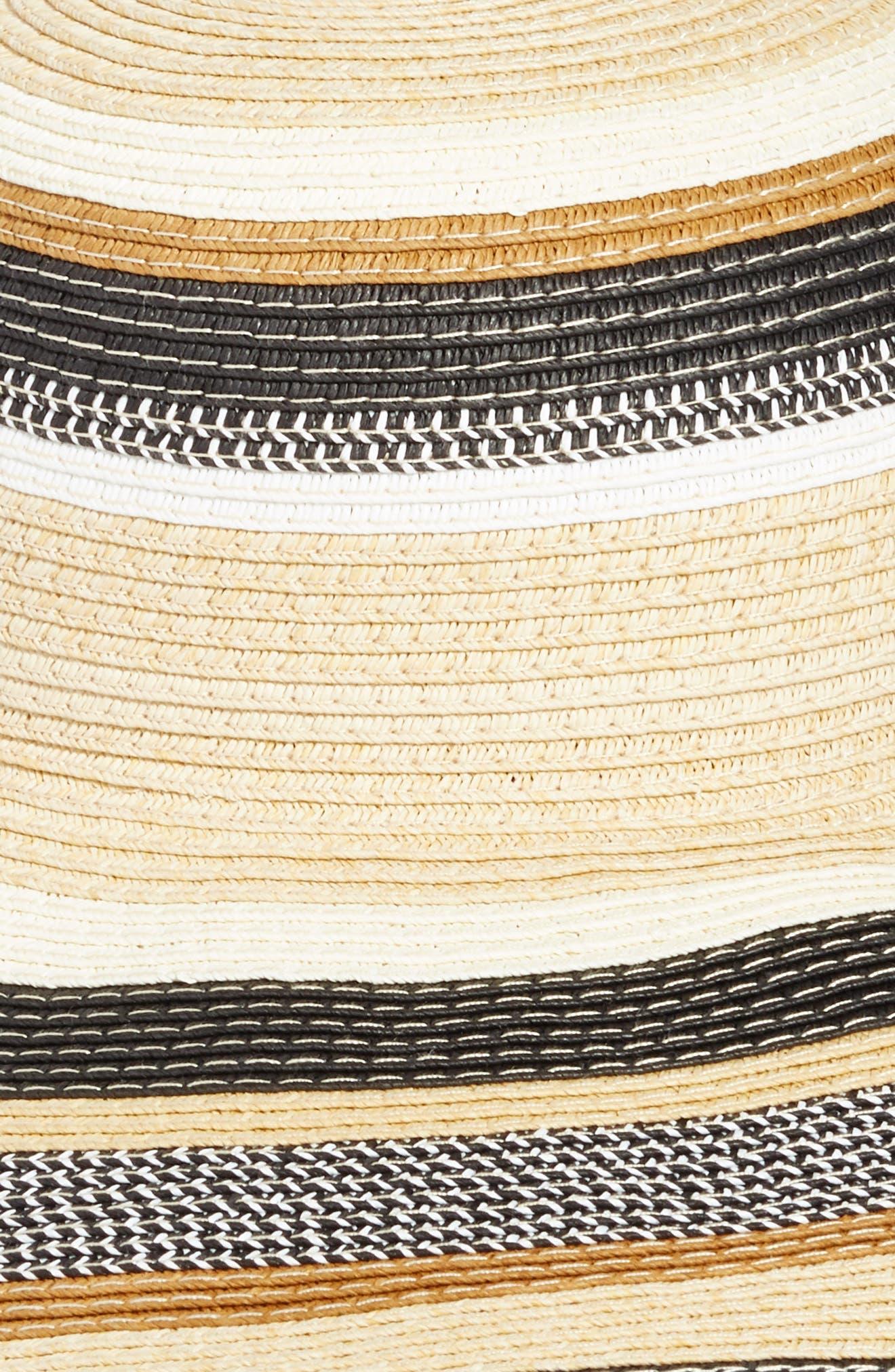 Byron Floppy Straw Hat,                             Alternate thumbnail 2, color,                             001