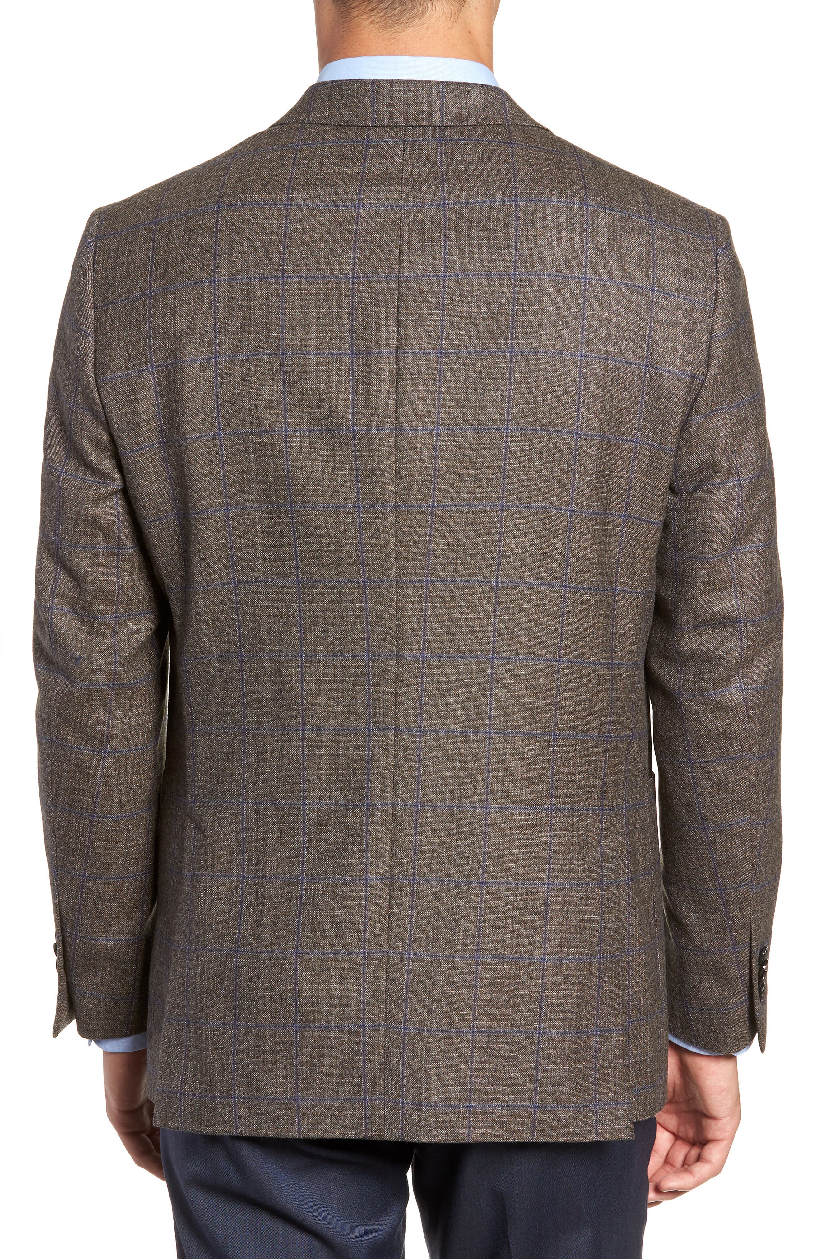 Hyperlight Classic Fit Wool Sport Coat,                             Alternate thumbnail 2, color,                             BROWN
