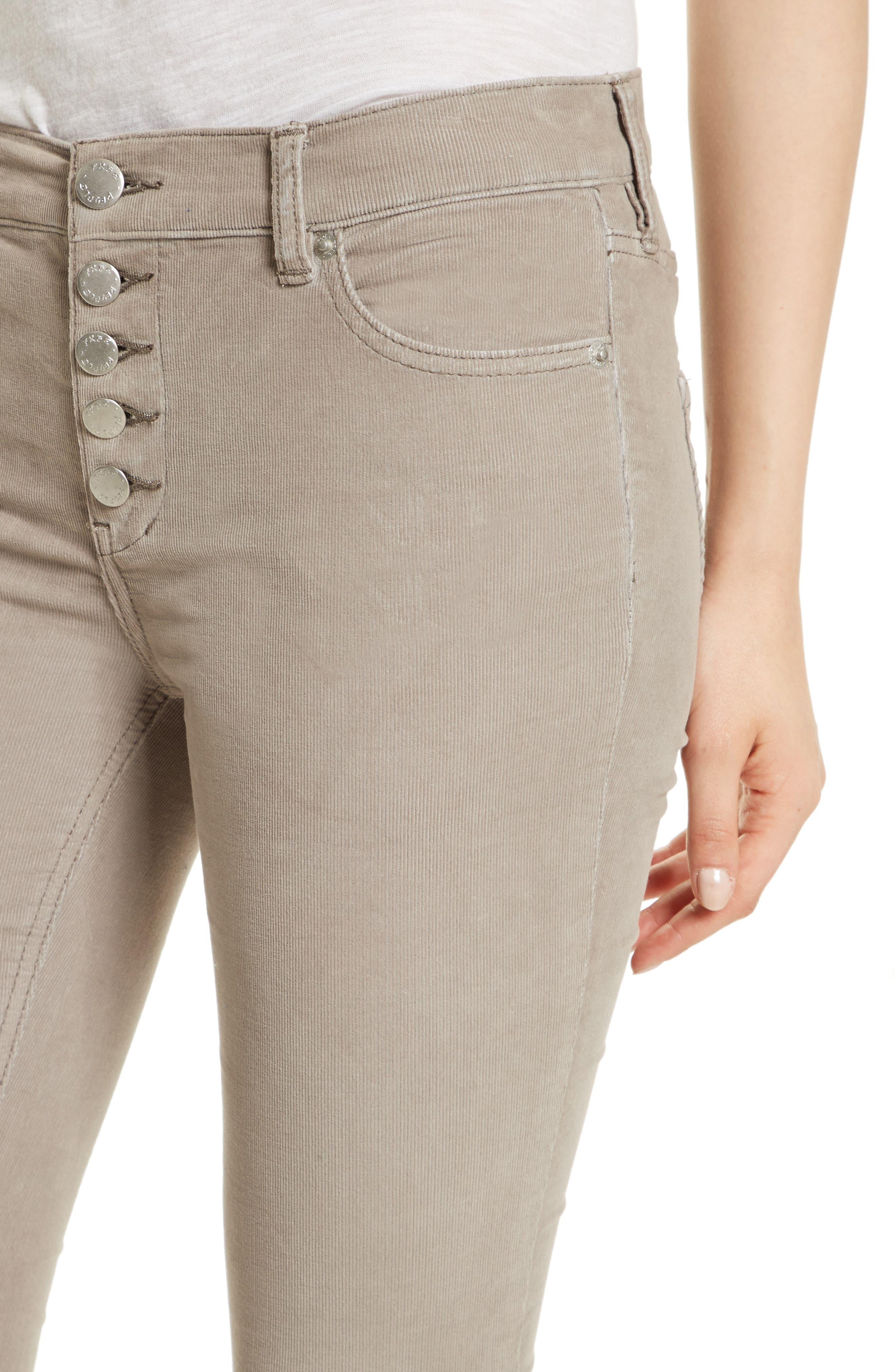 Reagan Crop Skinny Jeans,                             Alternate thumbnail 4, color,                             030