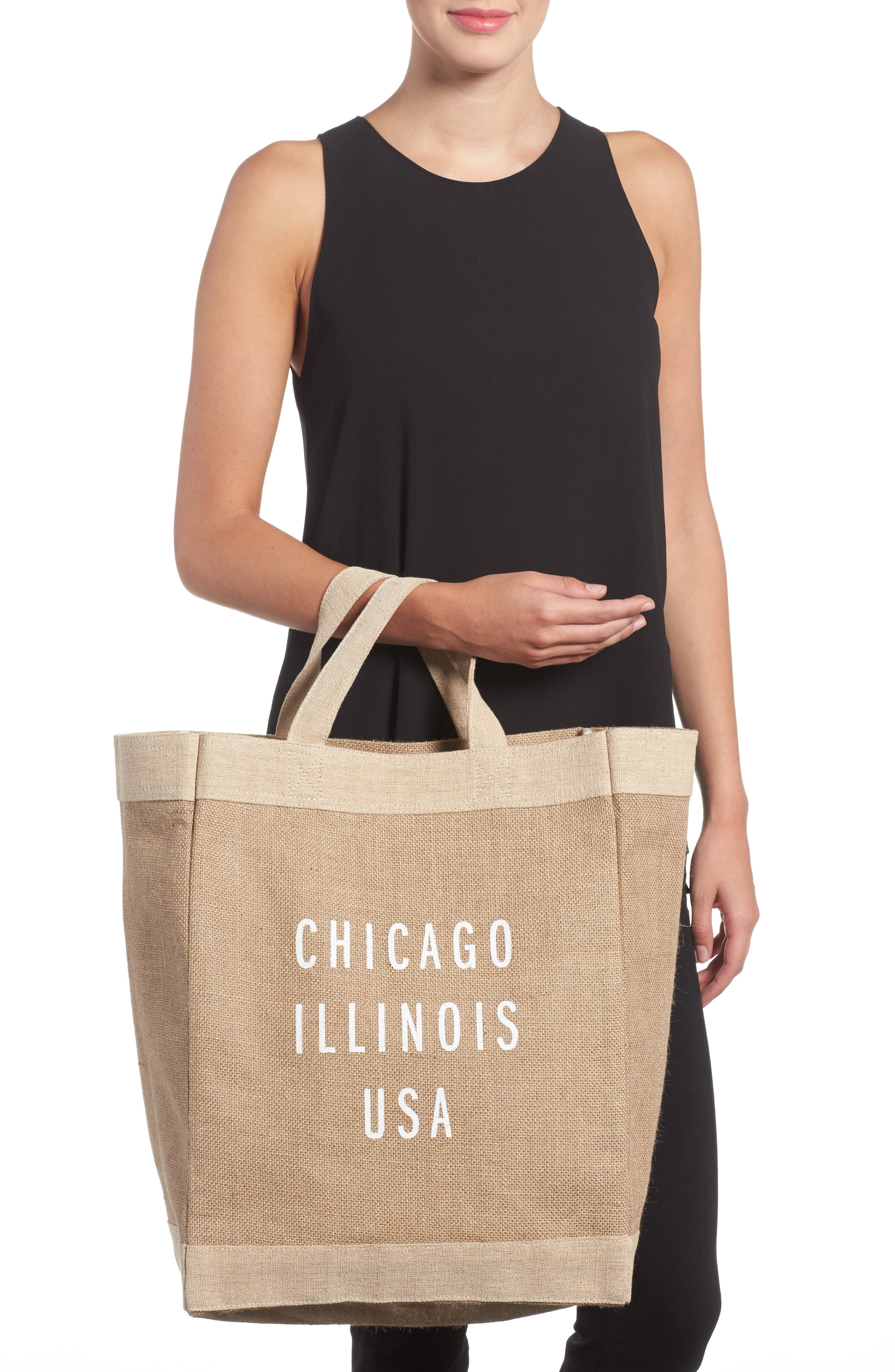 Chicago Simple Market Bag,                             Alternate thumbnail 2, color,