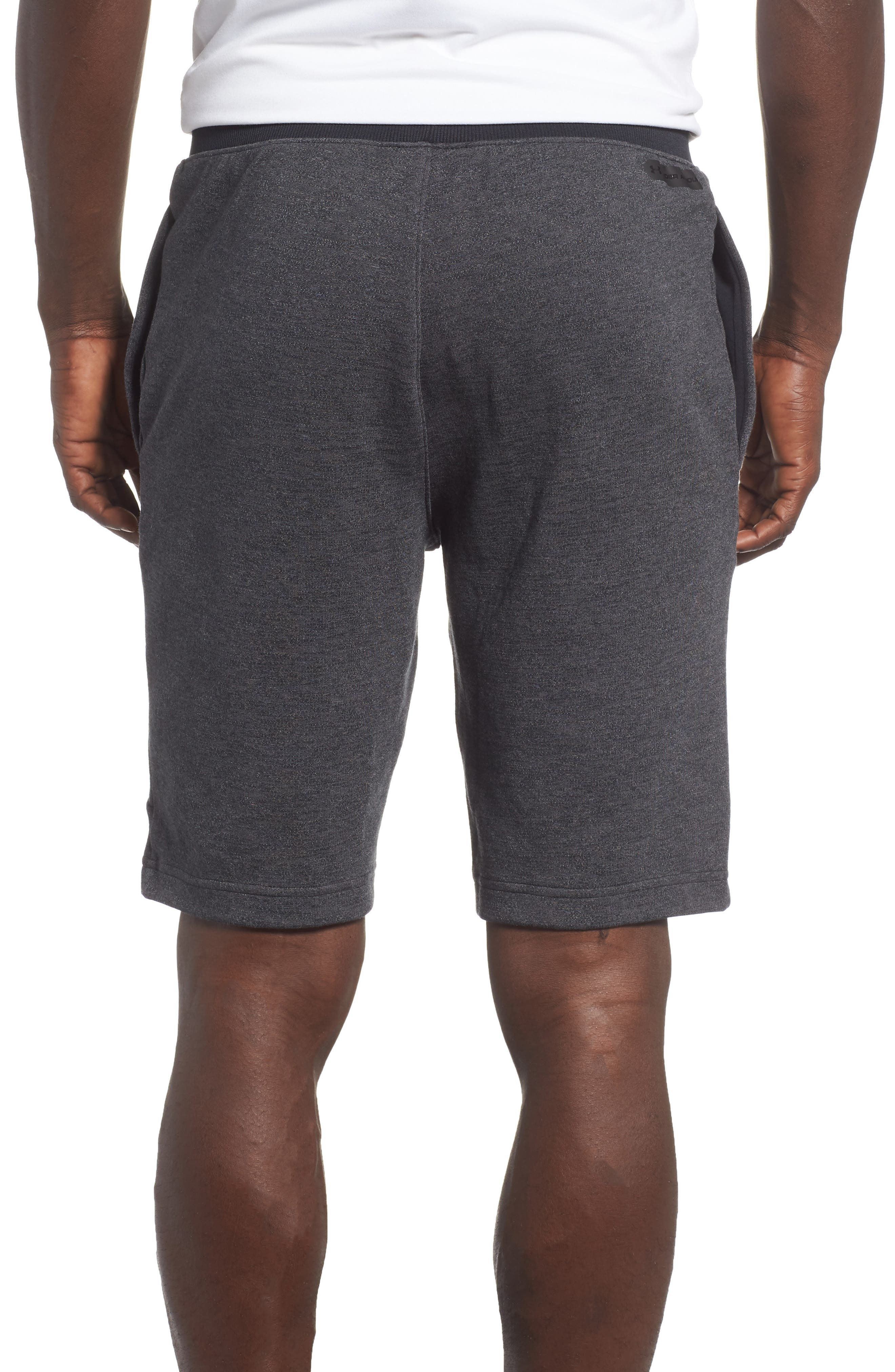 Sportstyle 2X Regular Fit Shorts,                             Alternate thumbnail 2, color,                             BLACK
