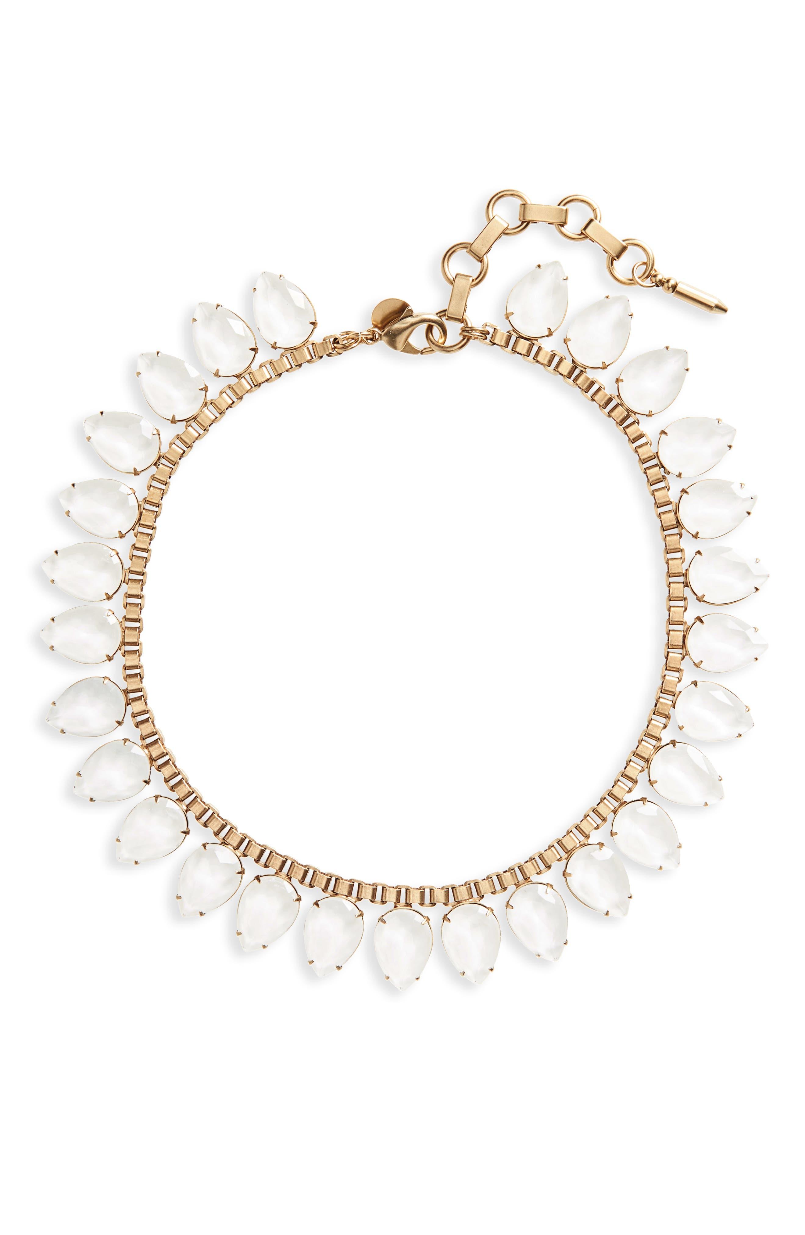 'Sylvia' Crystal Collar Necklace,                             Main thumbnail 3, color,
