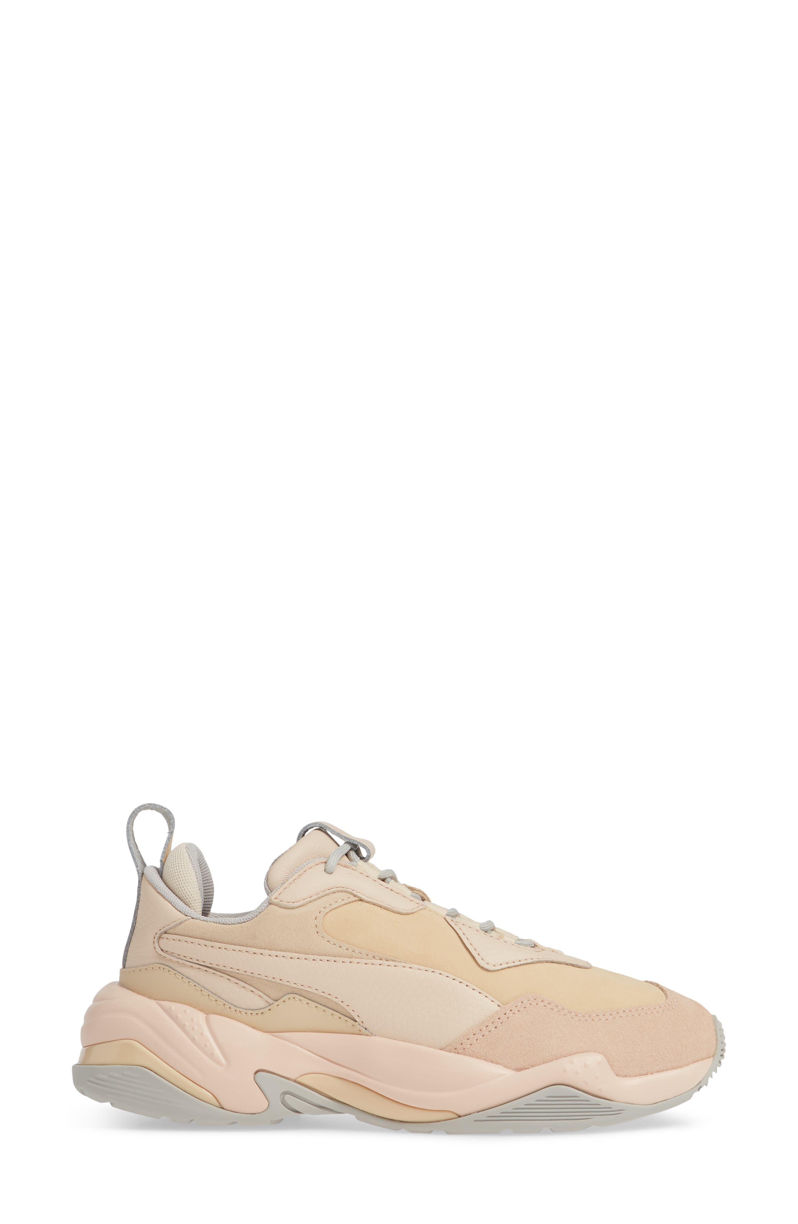 Thunder Desert Sneaker,                             Alternate thumbnail 3, color,                             NATURAL VACHETTA/ CREAM TAN