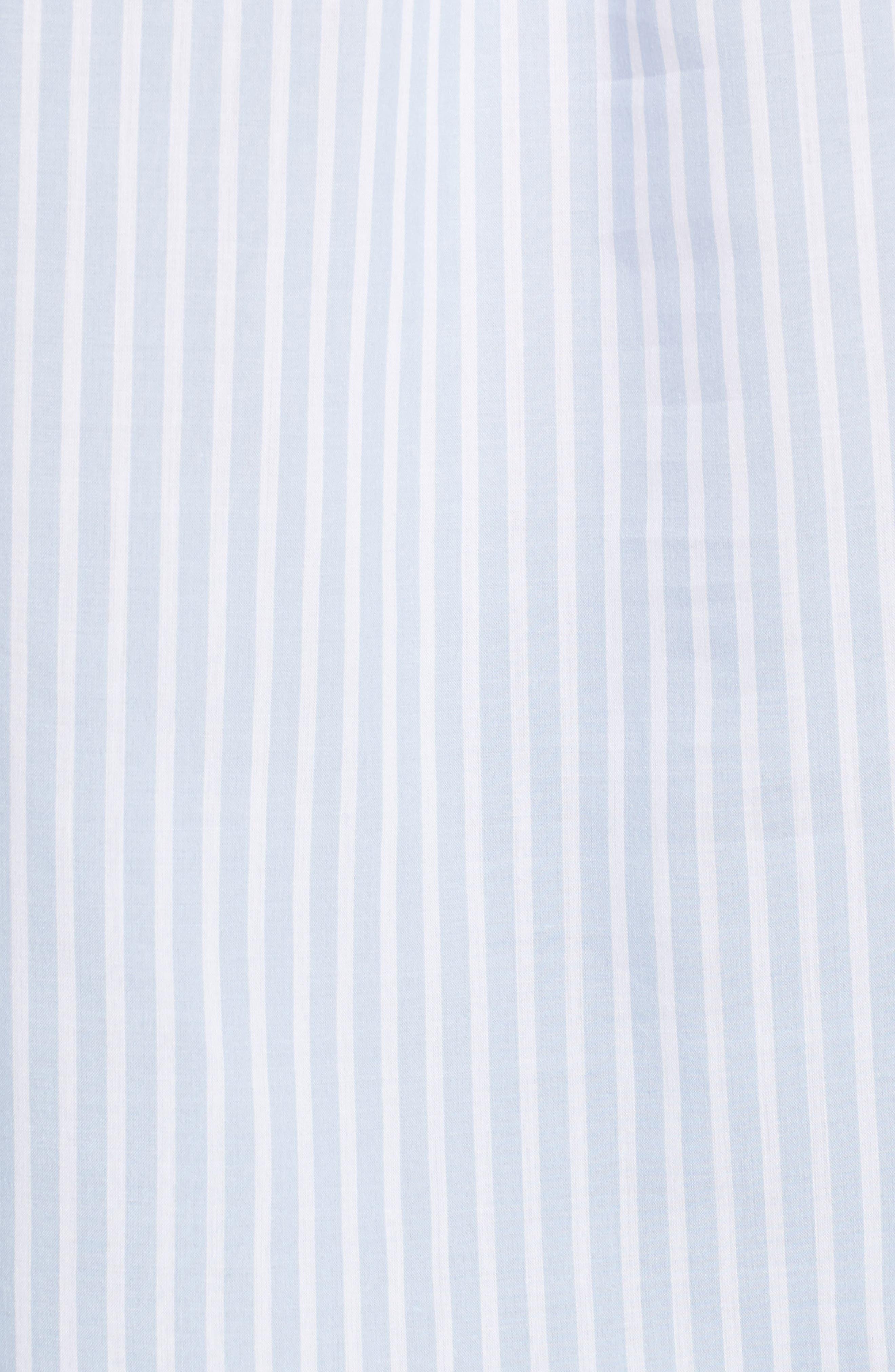 Stripe Bell Sleeve Top,                             Alternate thumbnail 5, color,                             456