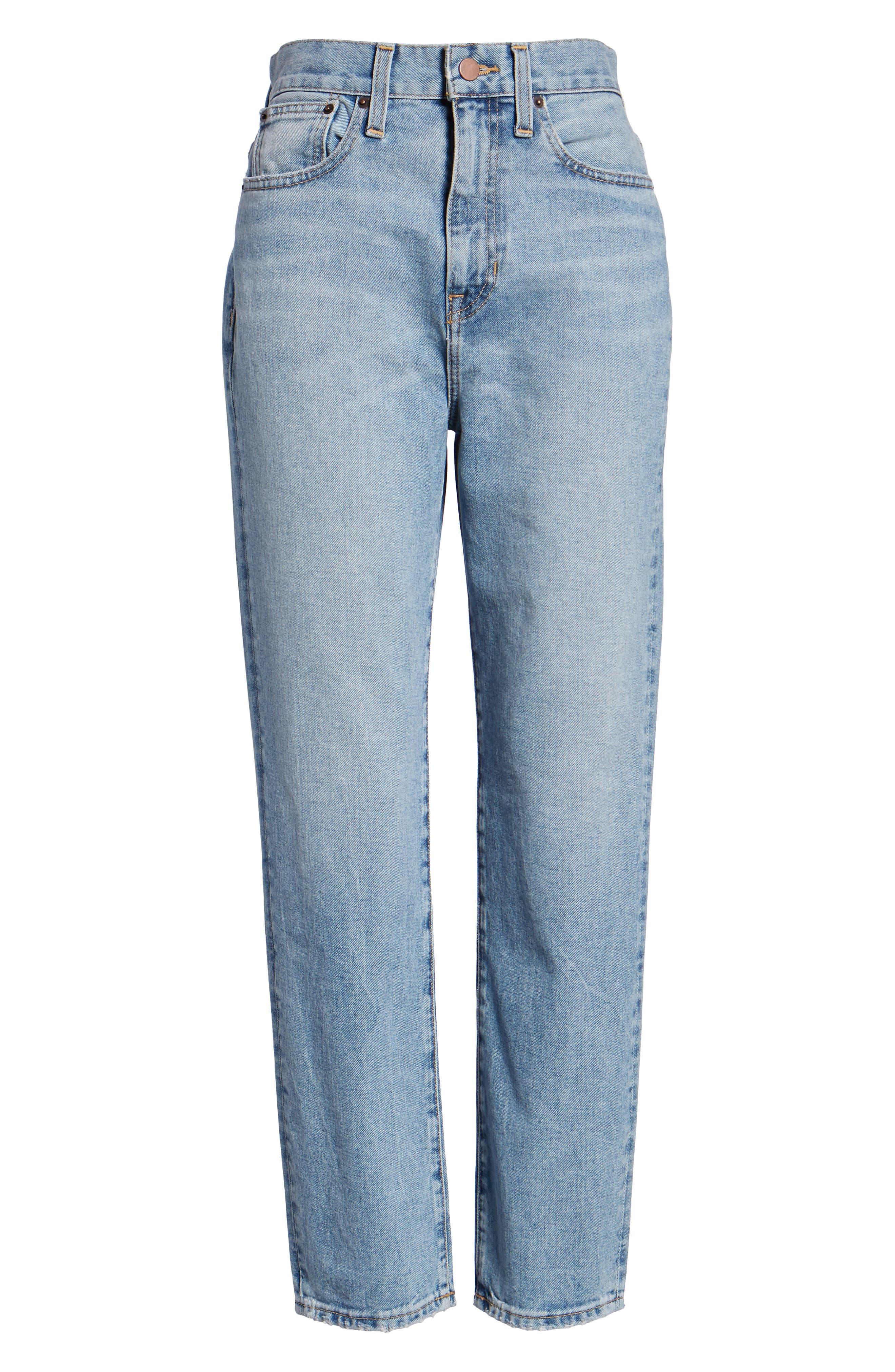 Ankle Cigarette Jeans,                             Alternate thumbnail 8, color,                             420