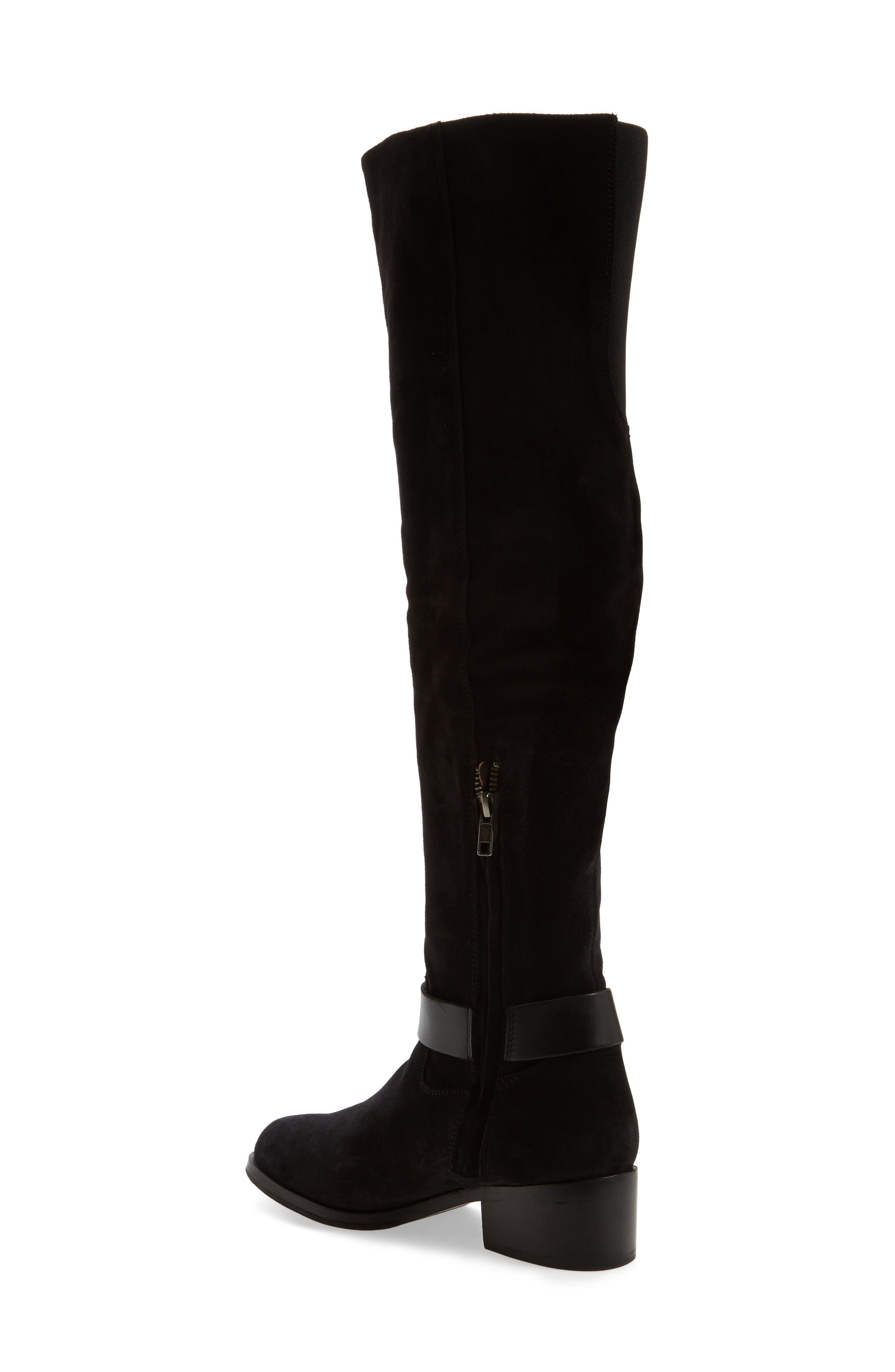 Kristen Harness Over the Knee Boot,                             Alternate thumbnail 2, color,                             001