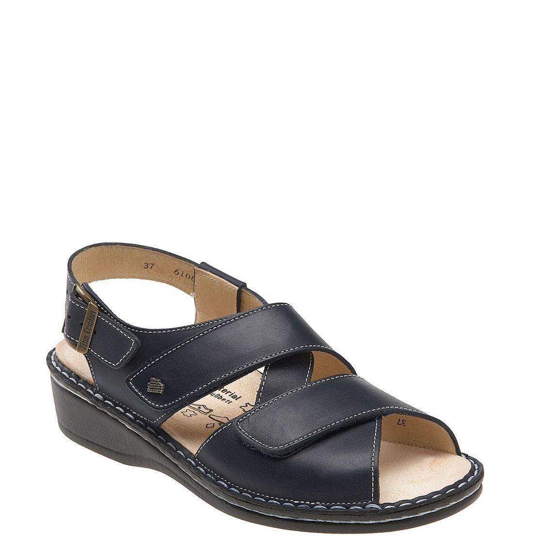 'Jersey' Sandal,                             Main thumbnail 4, color,