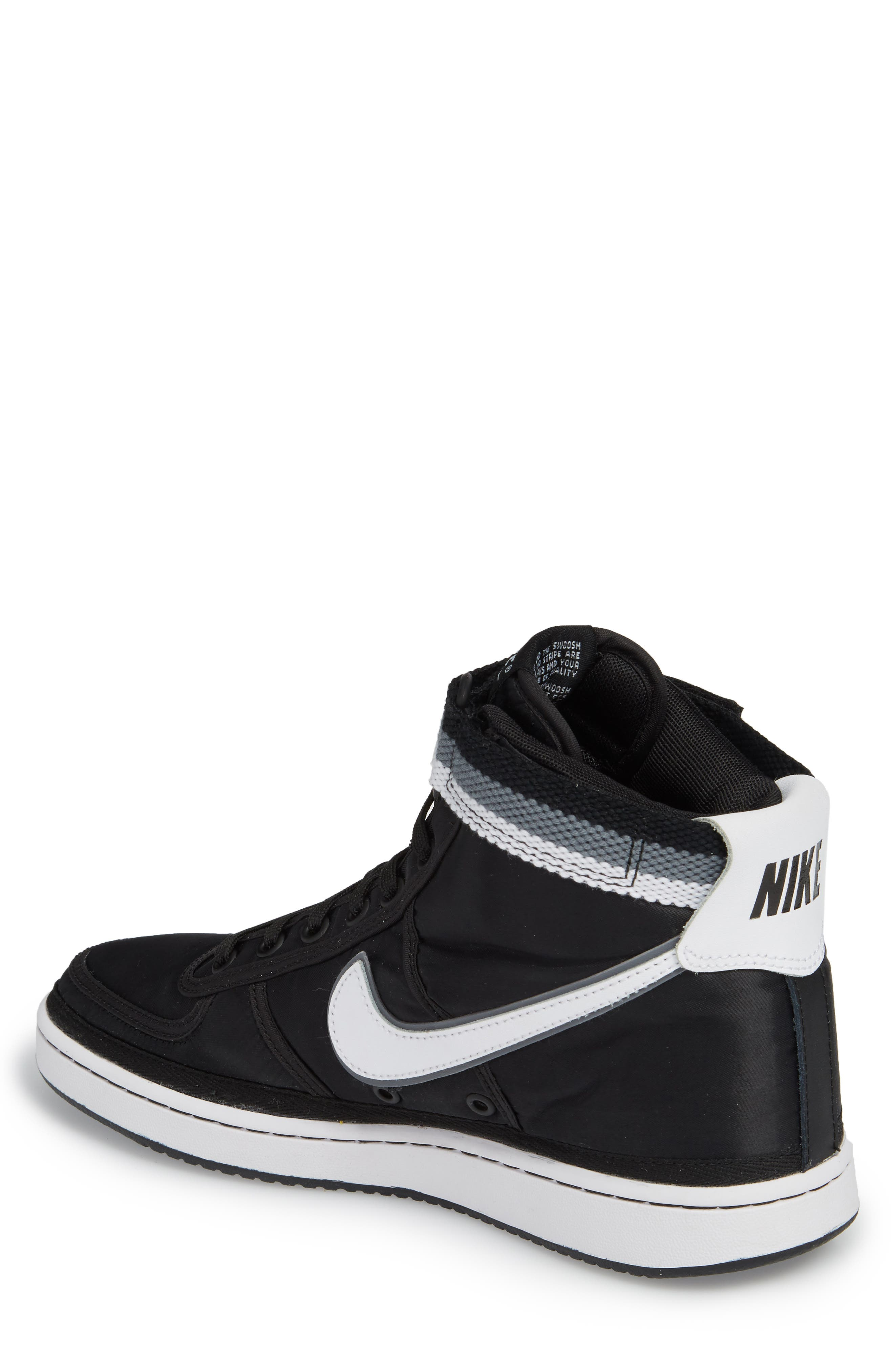 NIKE,                             Vandal High Supreme High Top Sneaker,                             Alternate thumbnail 2, color,                             001