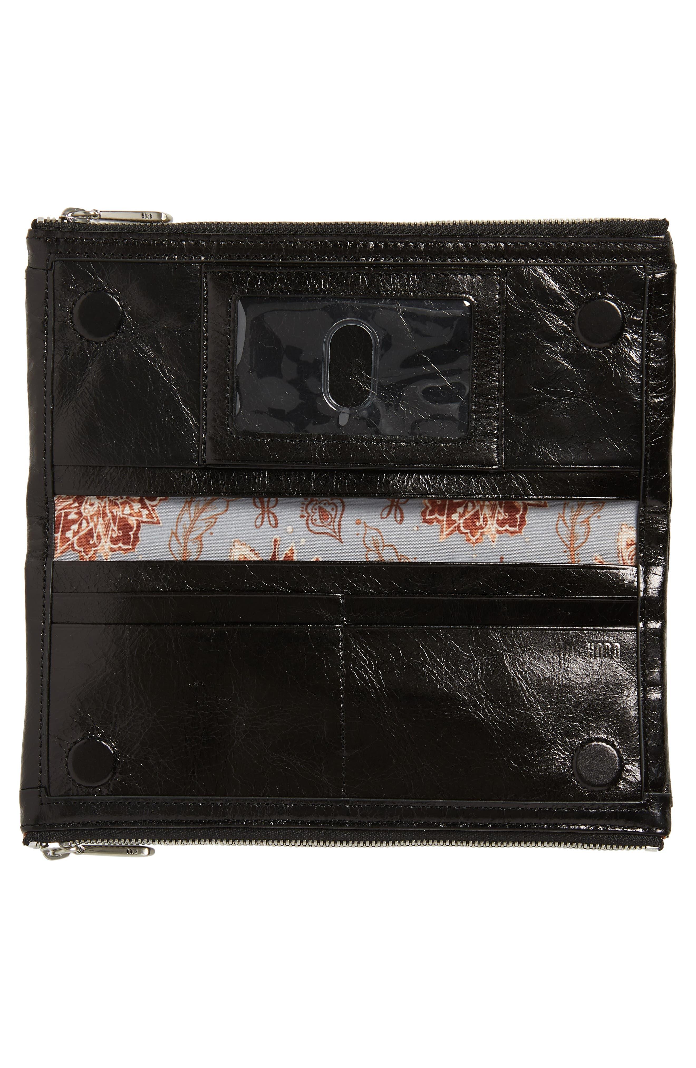 Taylor Glazed Wallet,                             Alternate thumbnail 5, color,                             001