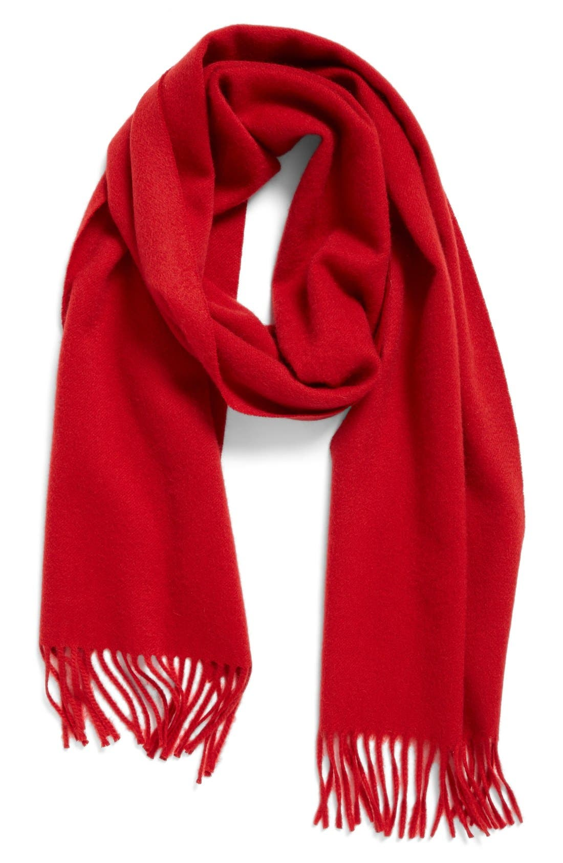 Solid Woven Cashmere Scarf,                             Alternate thumbnail 48, color,