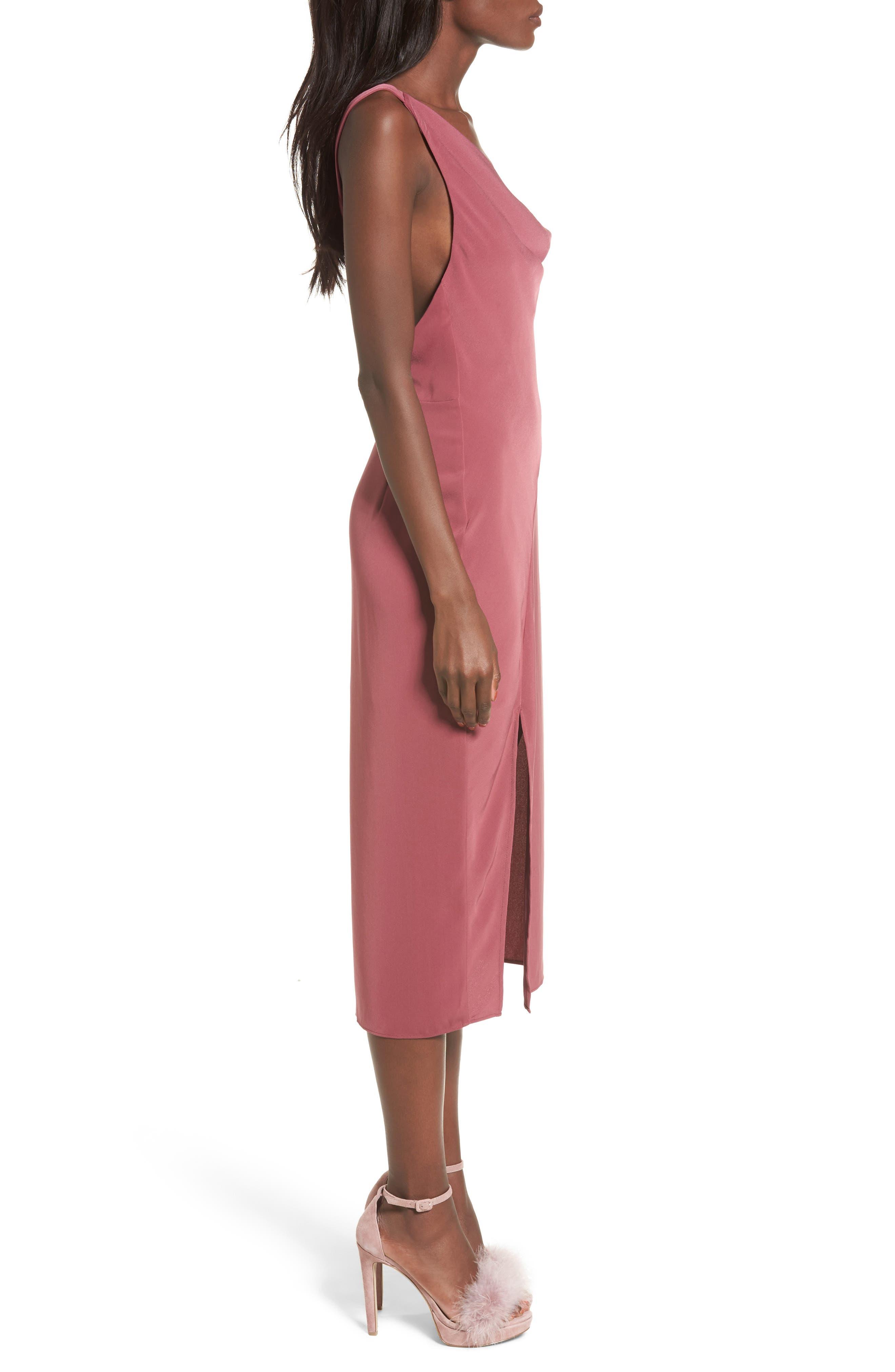KEEPSAKE THE LABEL,                             Be Mine Midi Dress,                             Alternate thumbnail 3, color,                             930