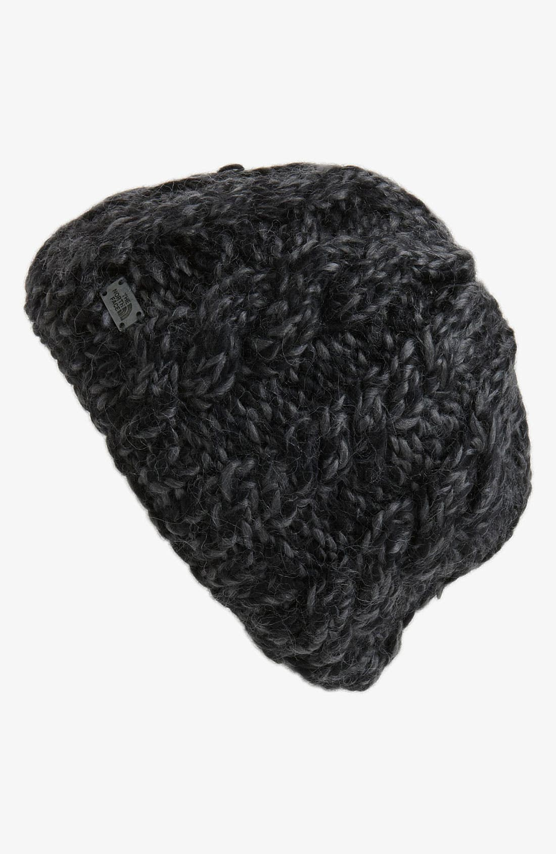 Fuzzy Cable Beanie,                             Main thumbnail 1, color,                             010