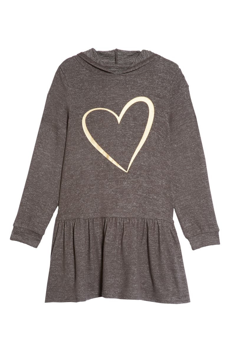 7d1093e17 Tucker + Tate Cozy Hooded Dress (Toddler Girls