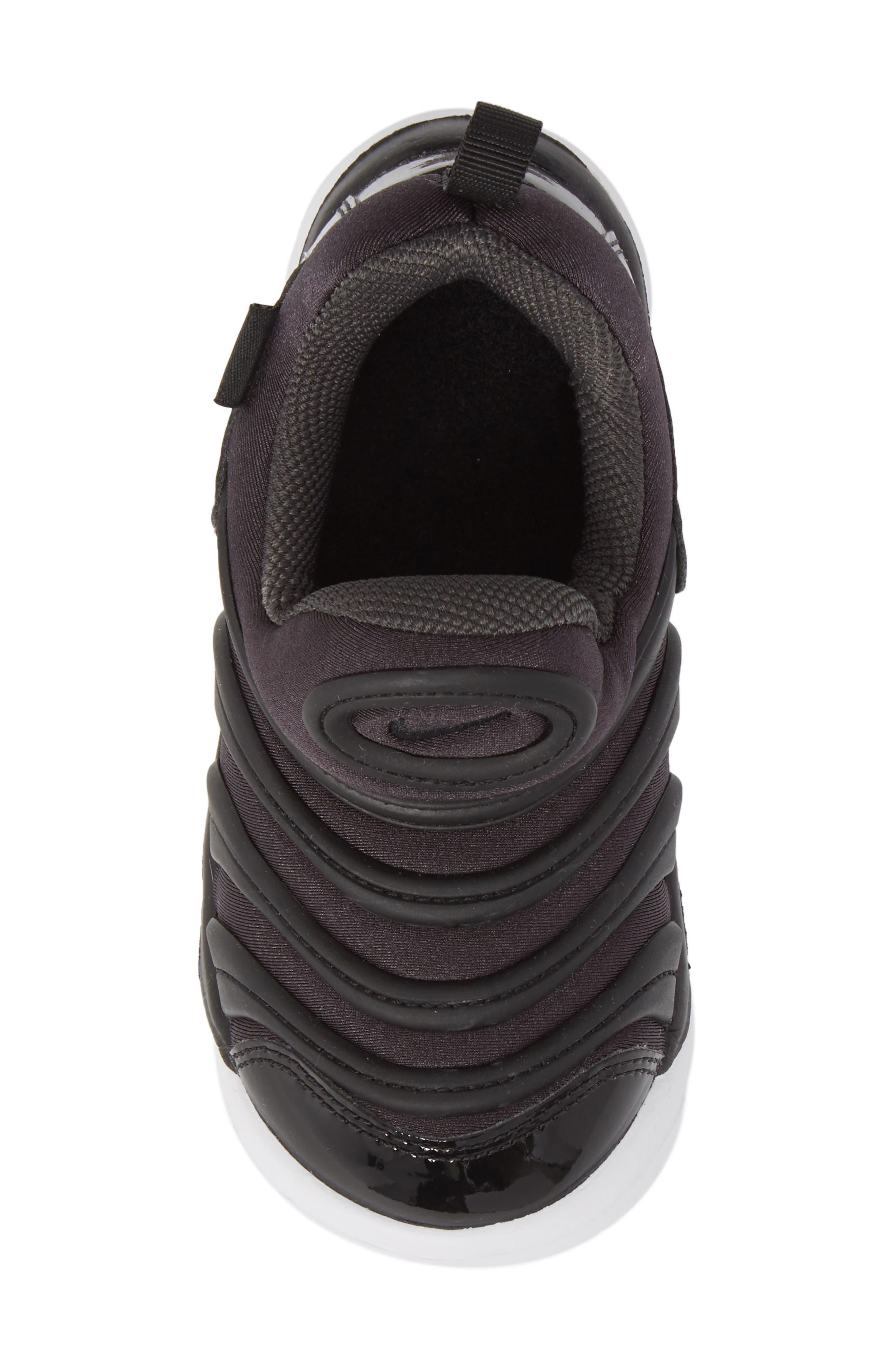 Dynamo Free Sneaker,                             Alternate thumbnail 5, color,                             ANTHRACITE/ WHITE/ BLACK