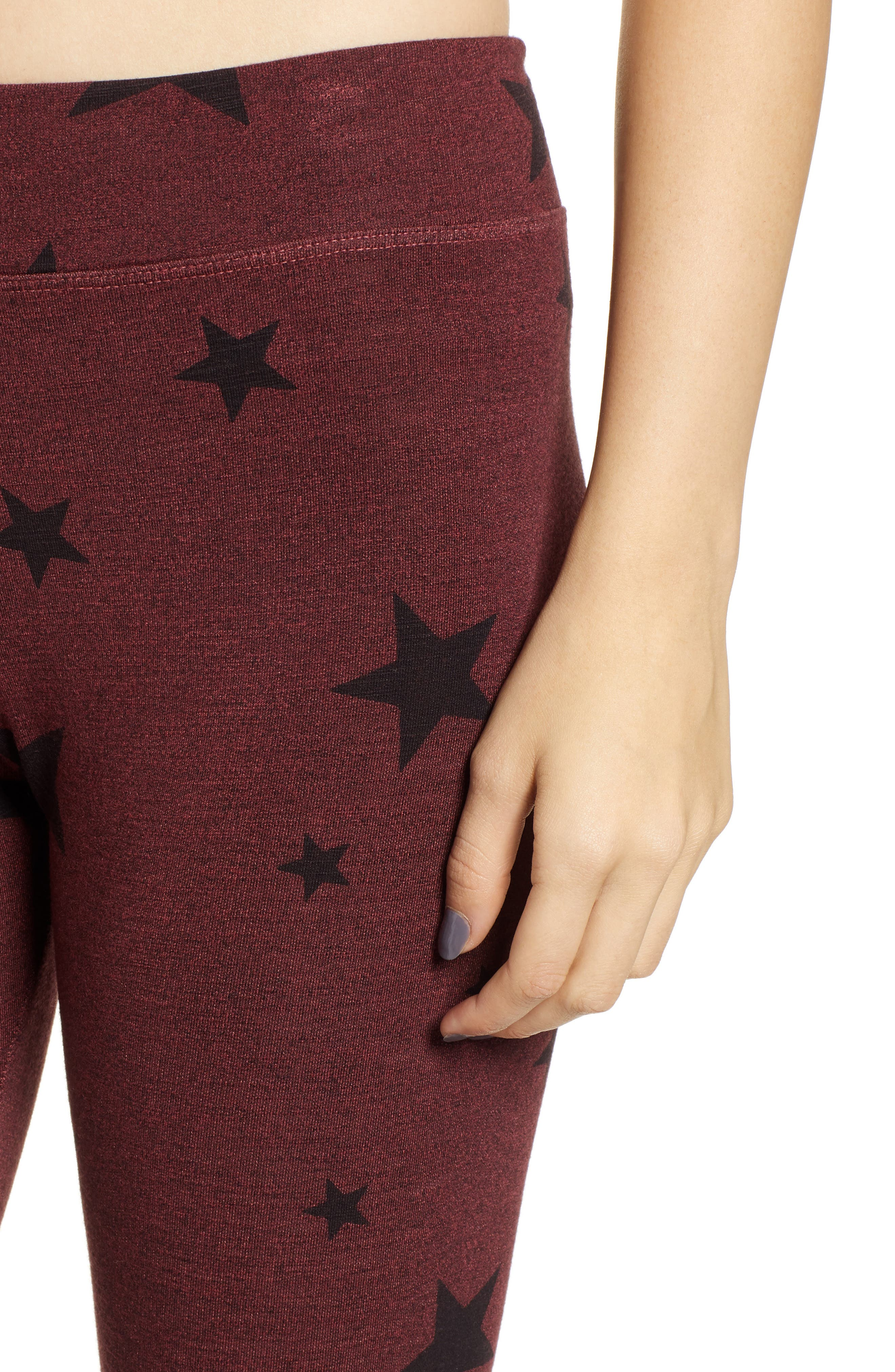 Stars Yoga Pants,                             Alternate thumbnail 4, color,                             931