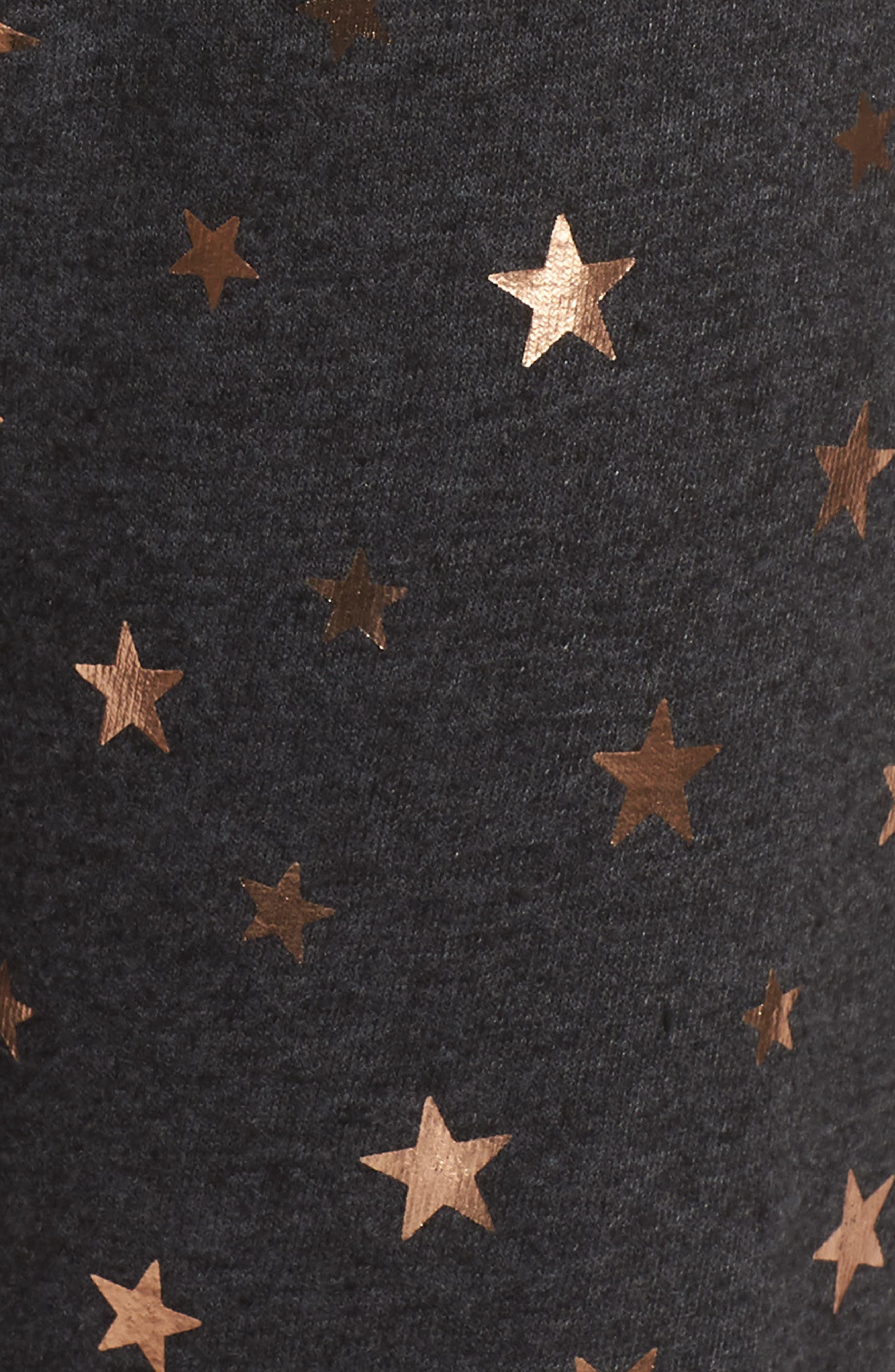 Stars Perfect Knit Pants,                             Alternate thumbnail 6, color,                             003