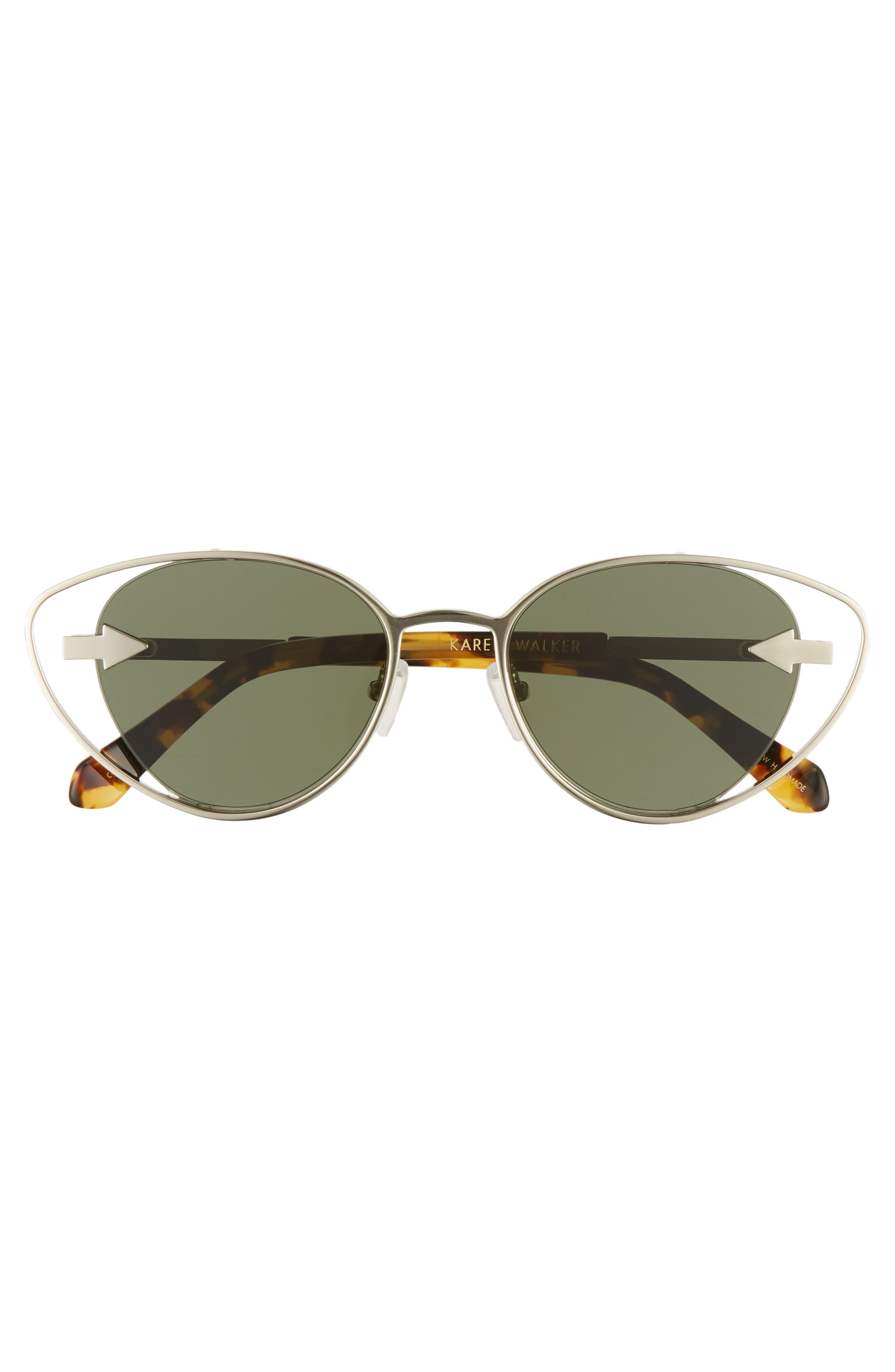 Kissy Kissy 51mm Cat Eye Sunglasses,                             Alternate thumbnail 3, color,                             GOLD/ TORTOISE