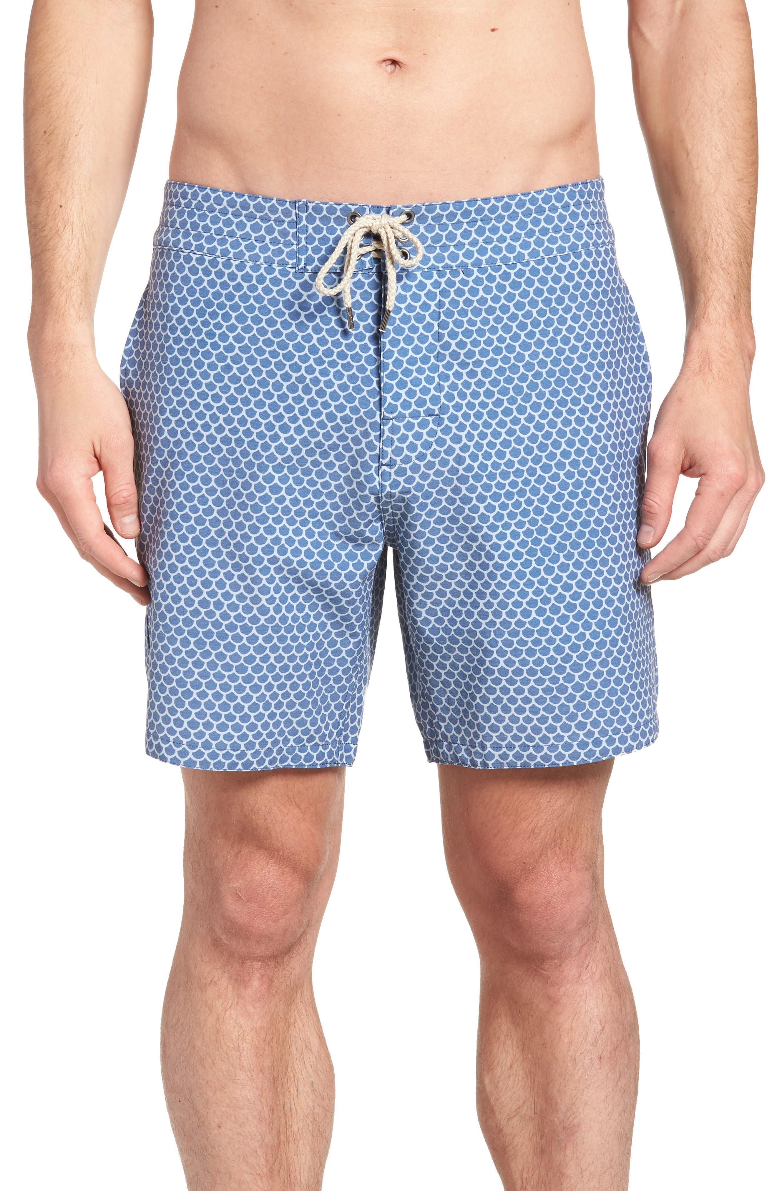 Classic Board Shorts,                             Main thumbnail 1, color,                             FISHSCALE BATIK