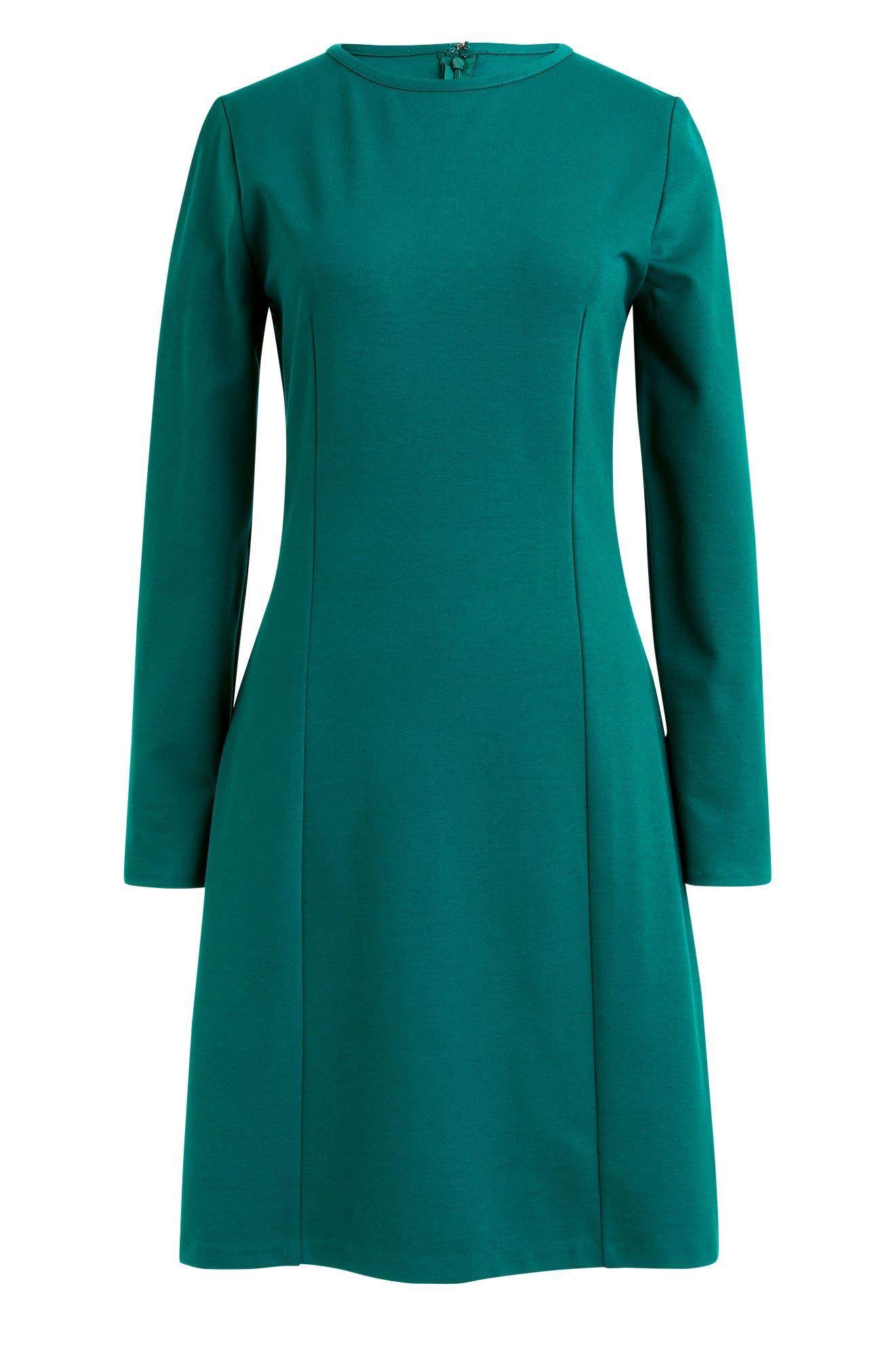 Storm Ponte Knit Dress,                             Alternate thumbnail 4, color,