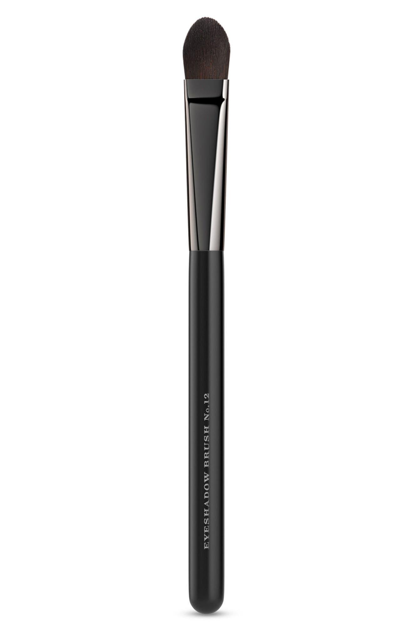 Medium Eyeshadow Brush No. 12,                             Main thumbnail 1, color,                             NO COLOR