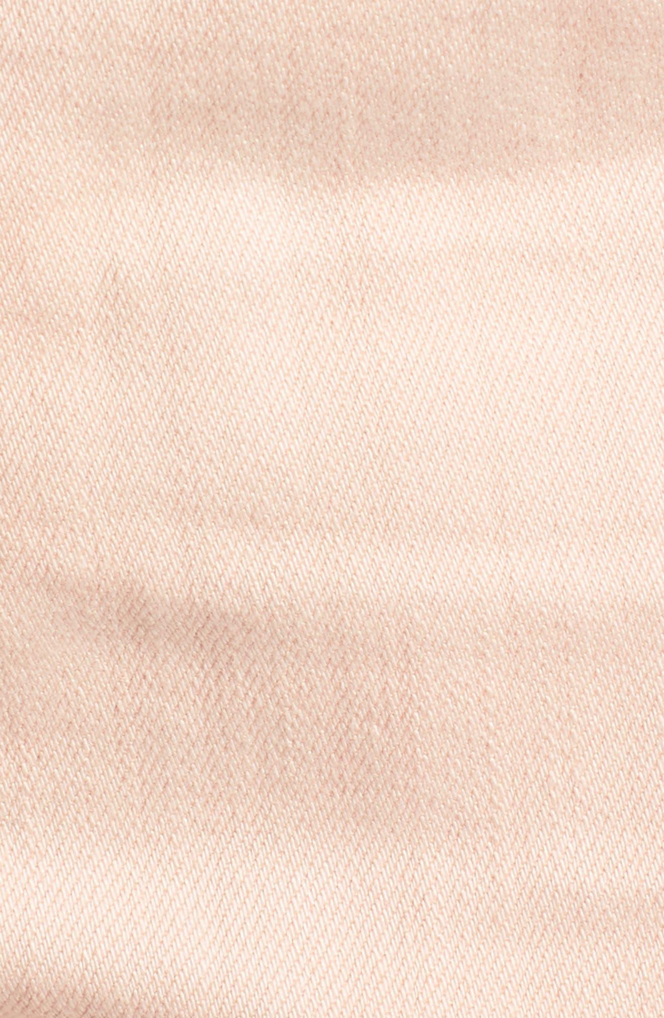 The Bryn High Waist Cutoff Denim Shorts,                             Alternate thumbnail 16, color,