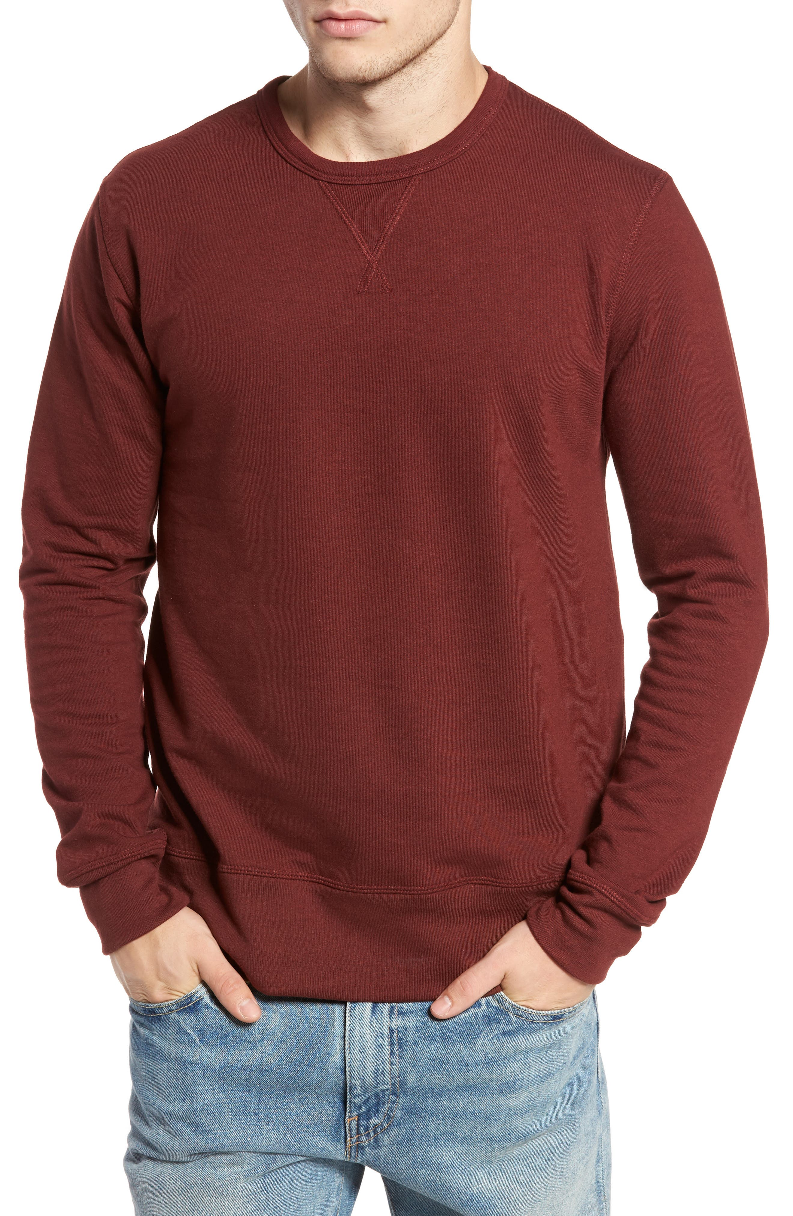 B-Side Reversible Crewneck Sweatshirt,                             Main thumbnail 7, color,