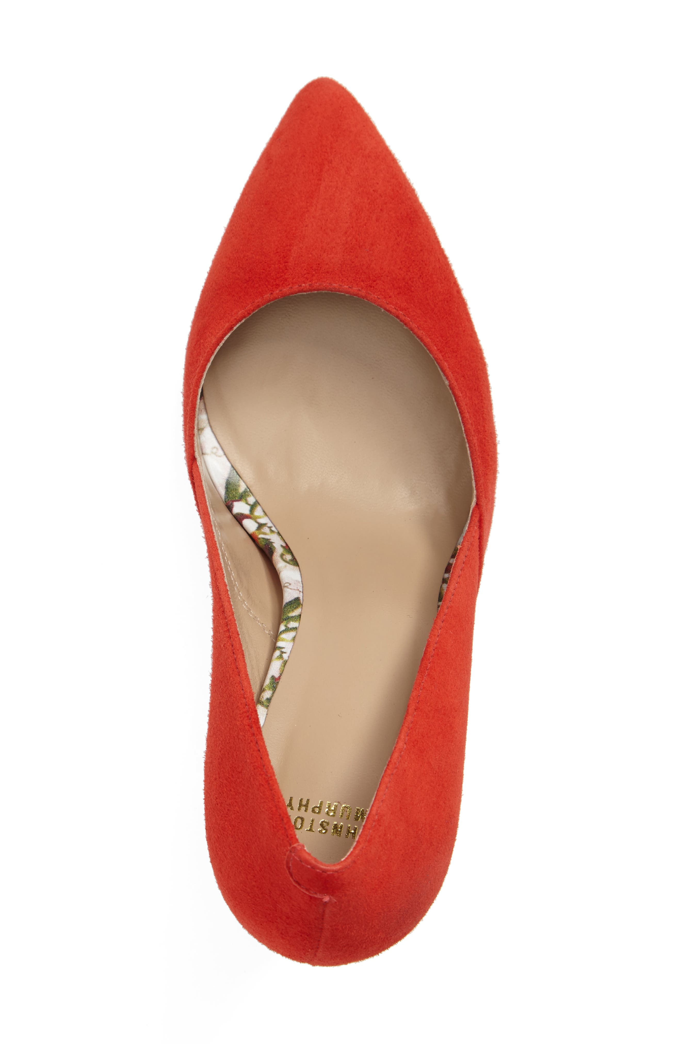 'Vanessa' Pointy Toe Leather Pump,                             Alternate thumbnail 24, color,